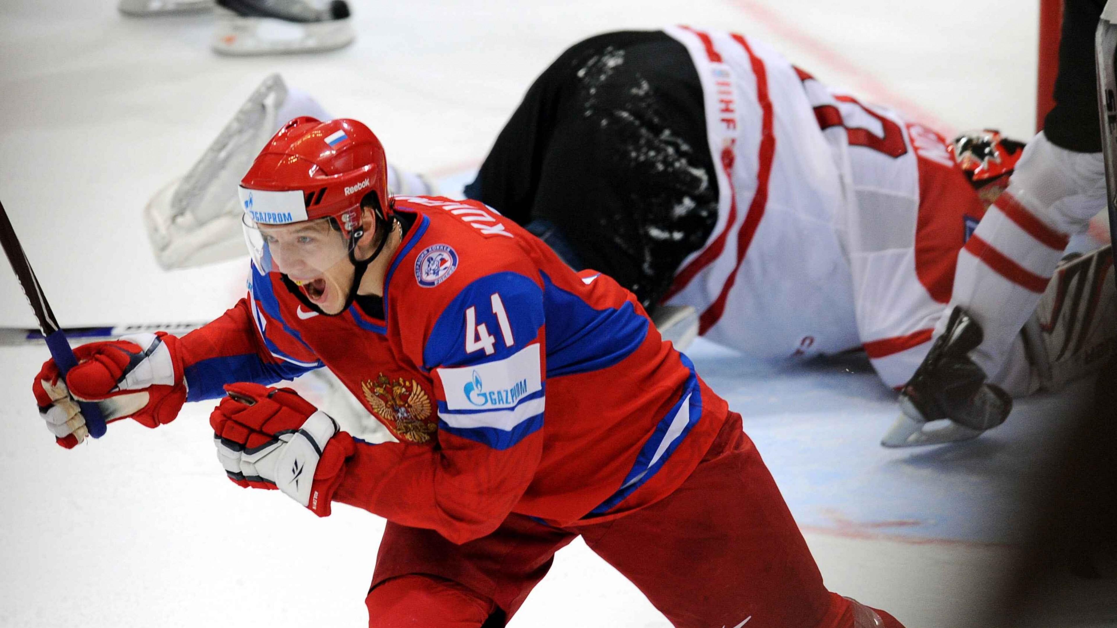 Preview wallpaper hockey, ice hockey, winning, olympics, sochi 2014  3840×2160