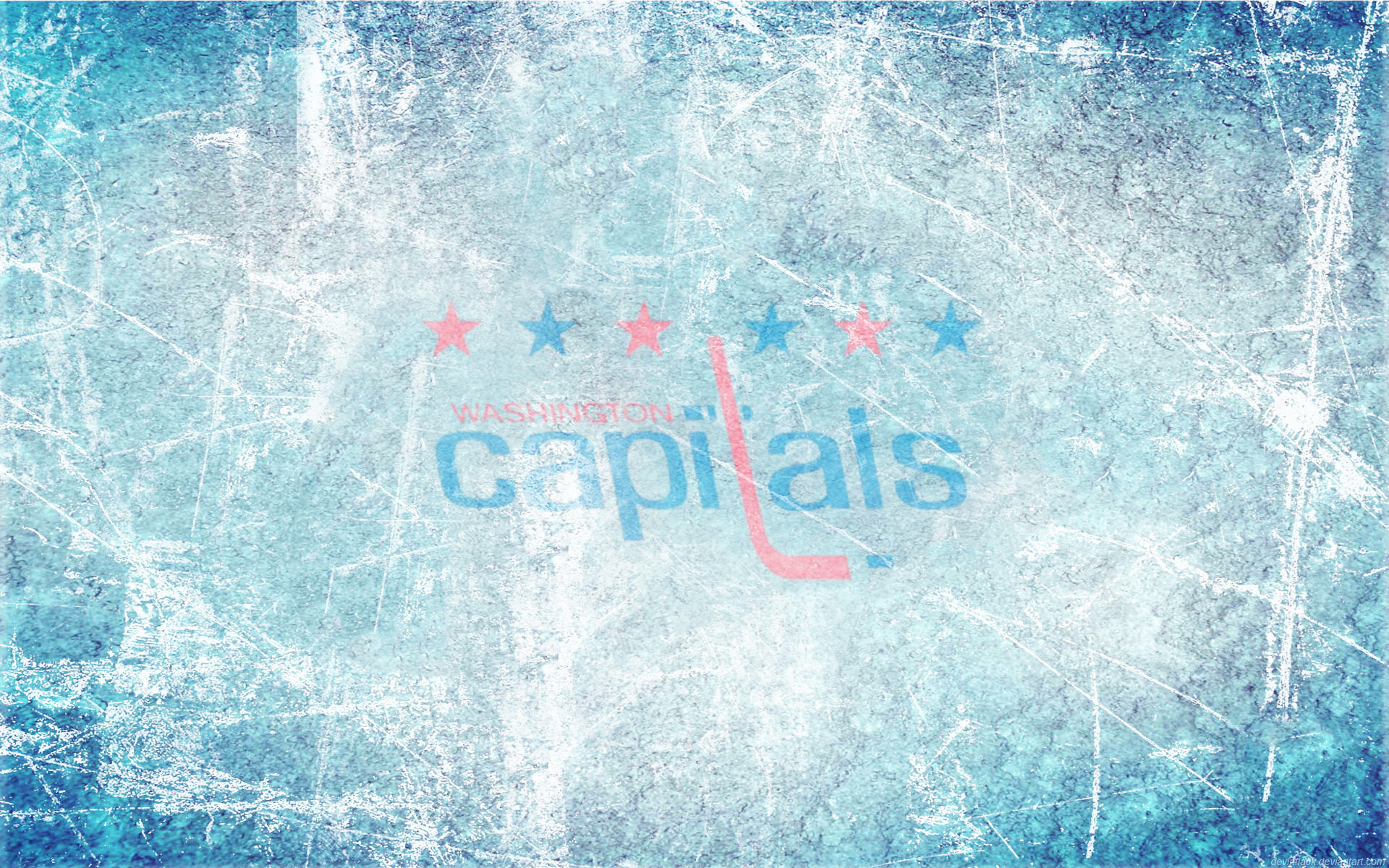 Capitals WC Ice Wallpaper by DevinFlack Capitals WC Ice Wallpaper by  DevinFlack