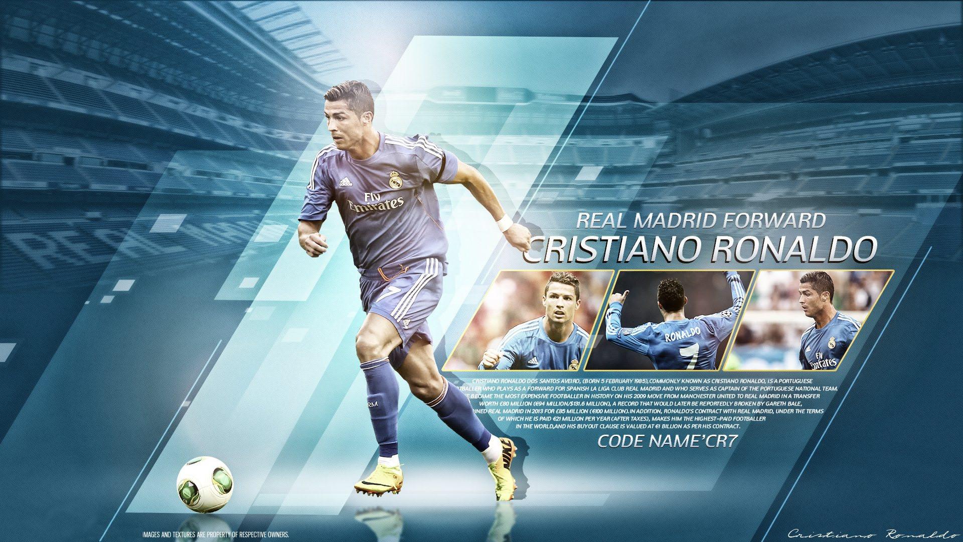 Cristiano Ronaldo Real Madrid wallpaper