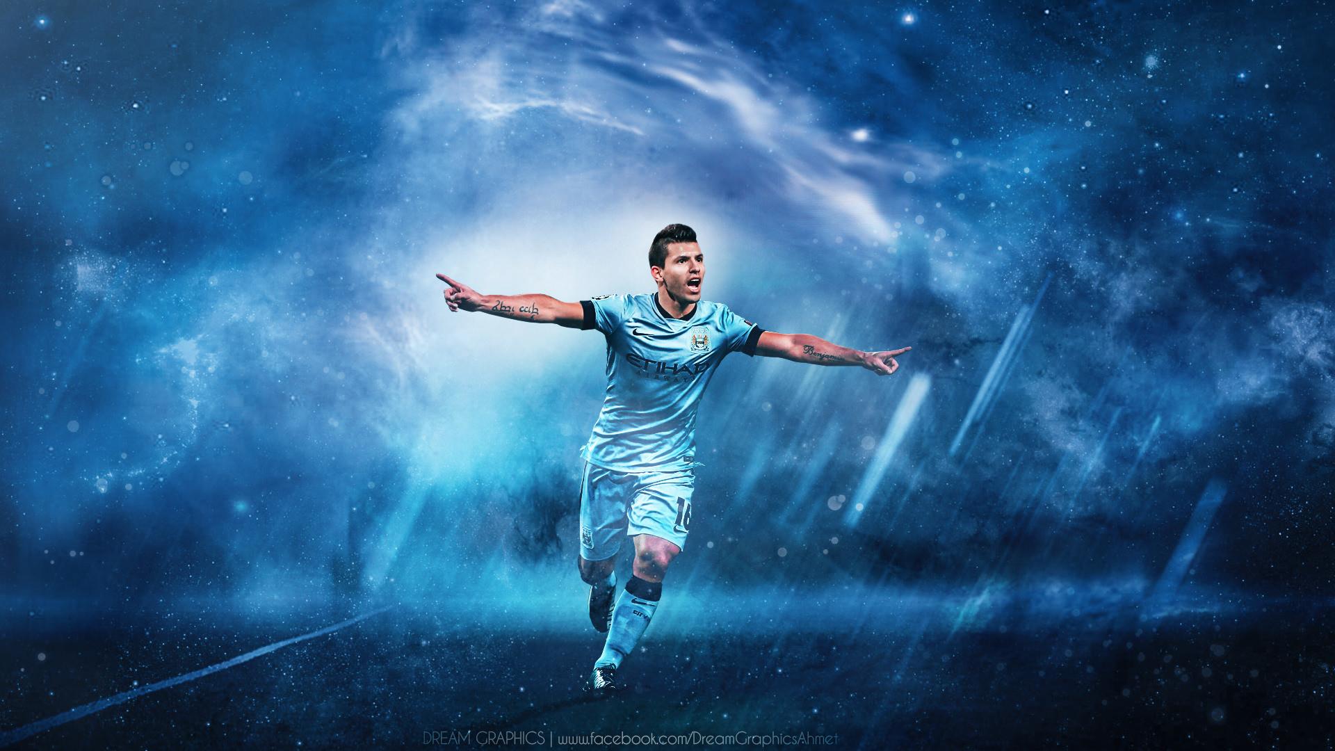 Sergio Agüero Manchester City Wallpaper