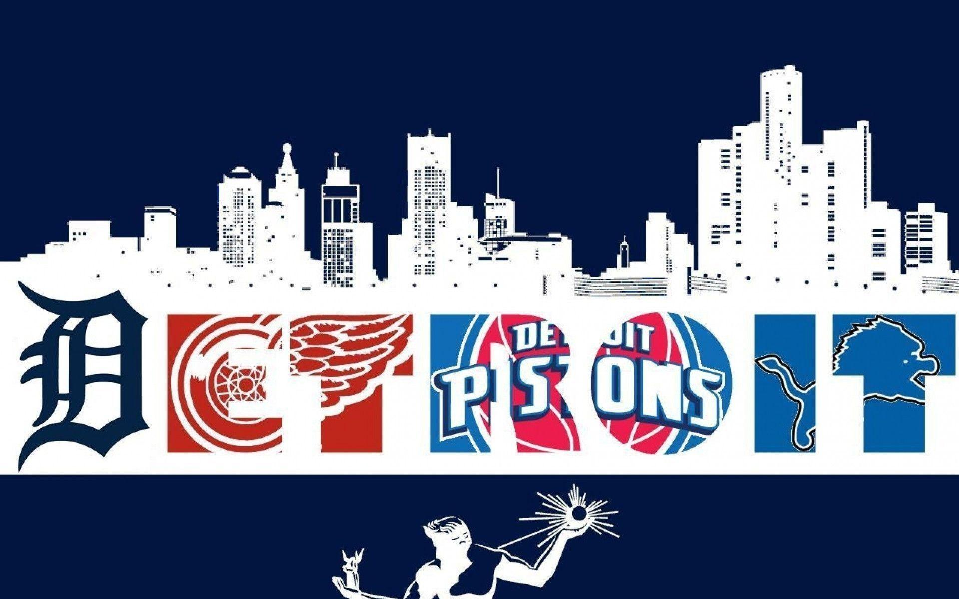Detroit Detroit Red Wings Detroit Lions Detroit Pistons Detroit .