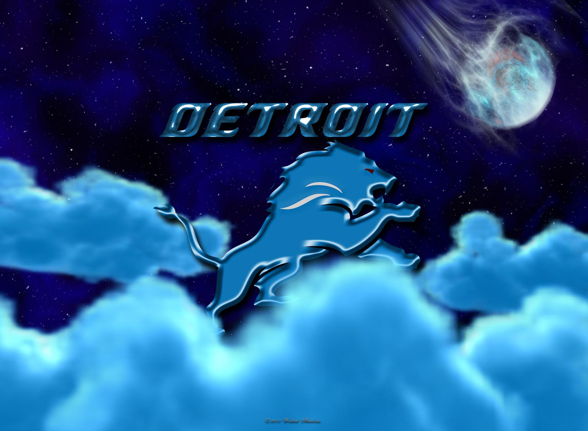 Detroit Lions Above The Clouds wallpaper