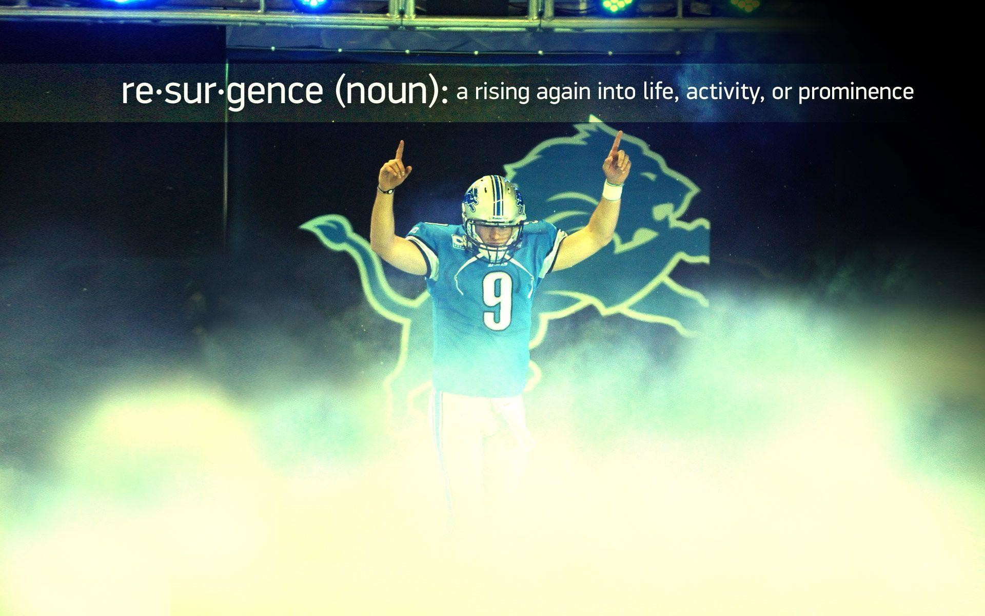 Stafford Detroit Lions Wallpaper – Helicalus – HD Wallpapers
