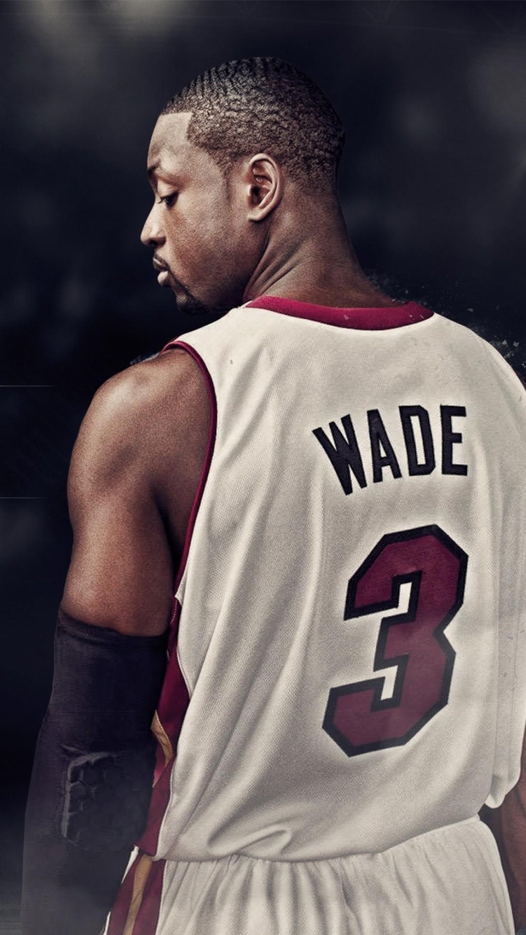 Wallpaper dwyane wade, basketball player, miami heat, 3, nba