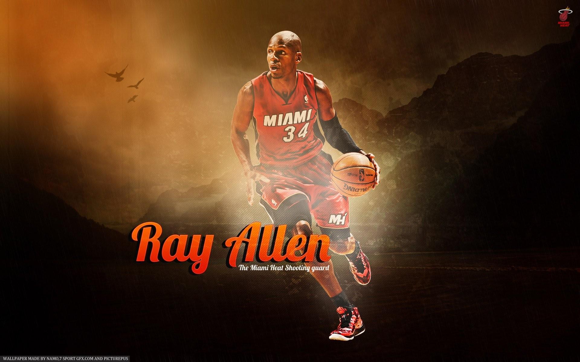 Ray Allen Miami Heat 656924 …