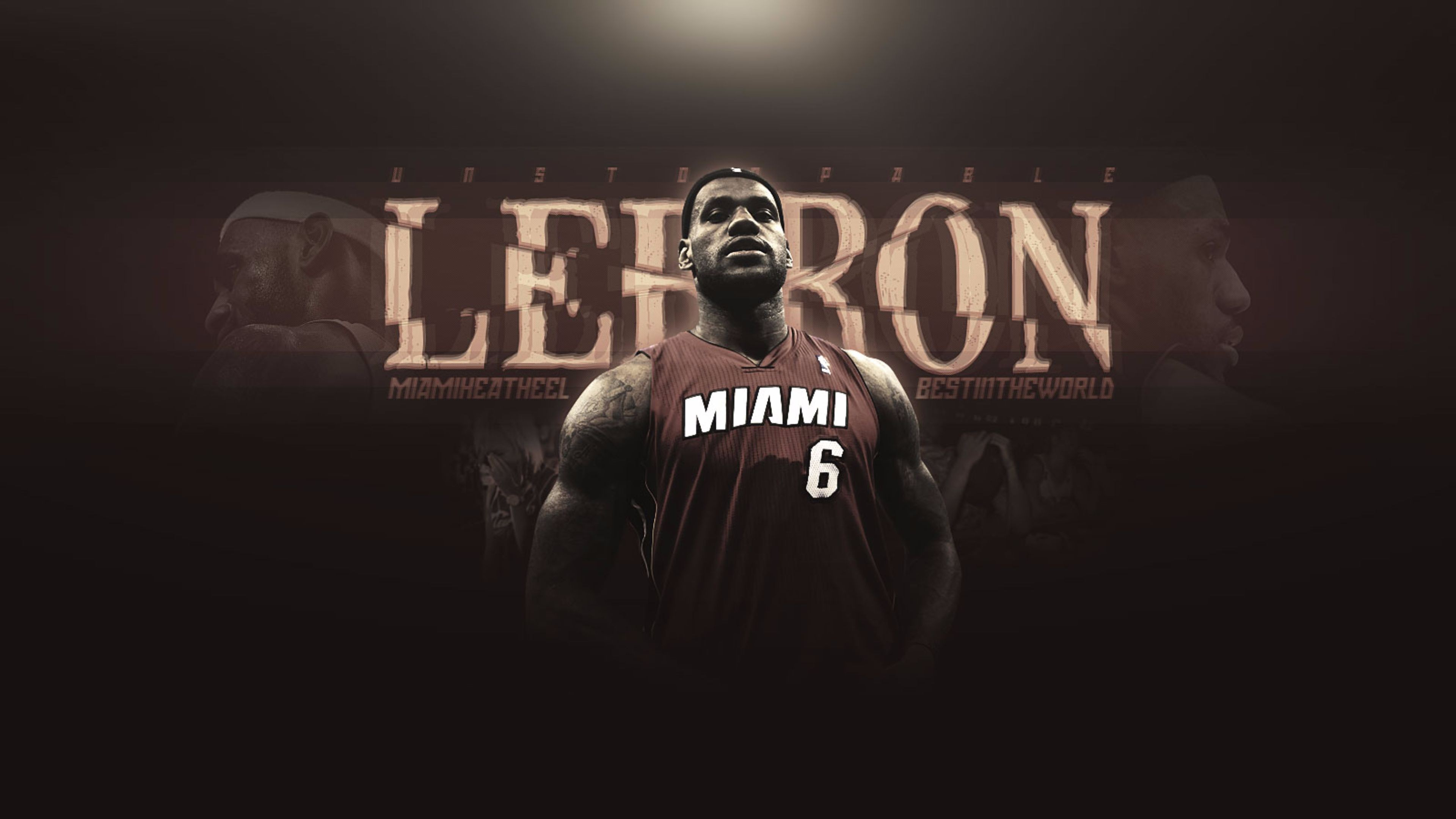 Ultra HD 4K resolutions:3840 x 2160 Original. Description: Download LeBron  James Miami Heat 4K Sports wallpaper …