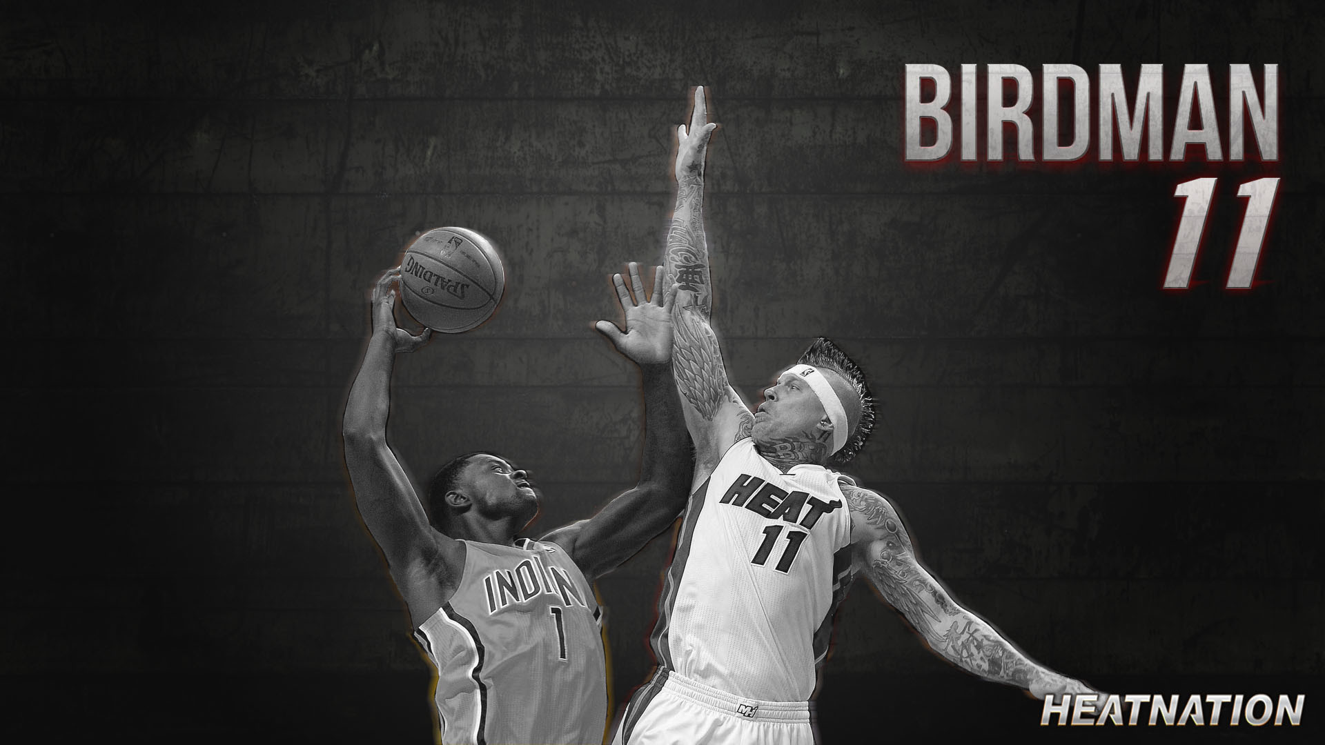 """Here is a Chris """"Birdman"""" Anderson wallpaper portraying a violent rejection  that is about"""