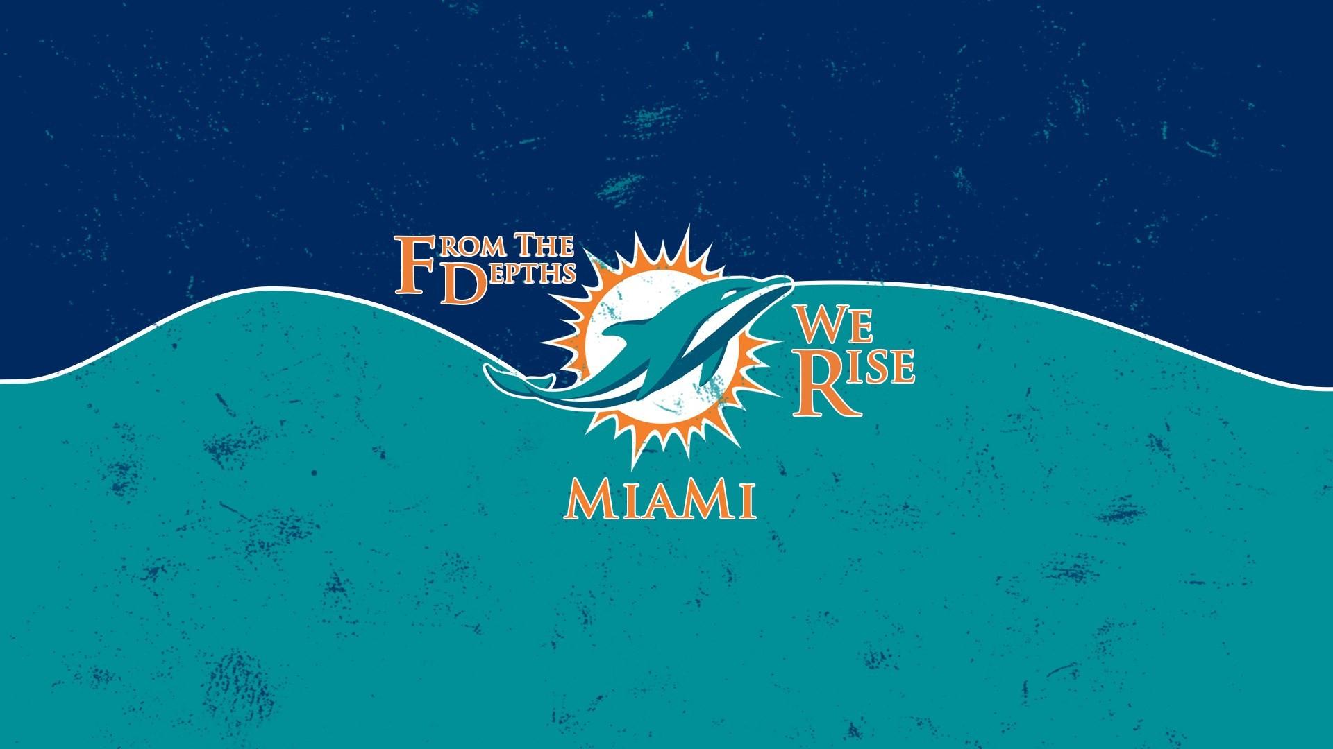 miami dolphins free computer wallpaper