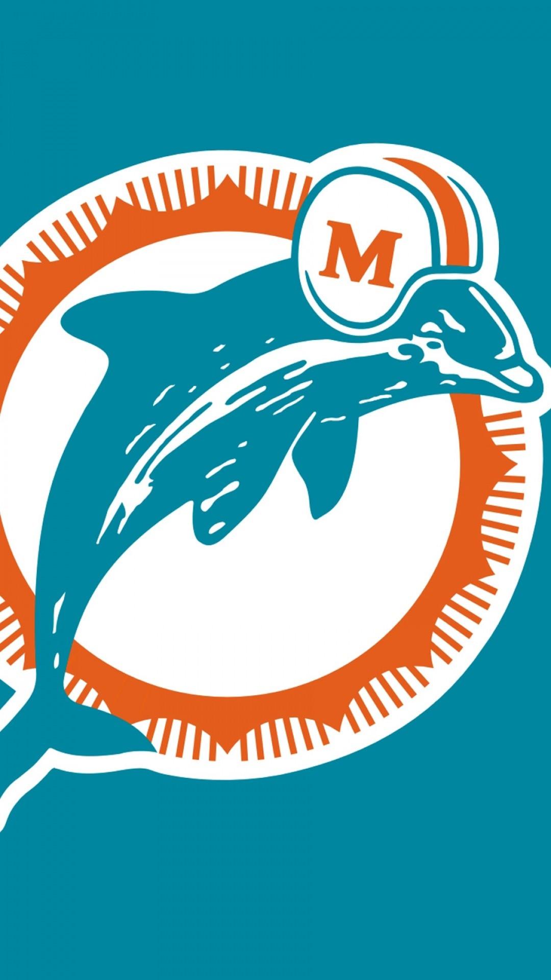 Wallpaper miami dolphins, logo, football club, miami