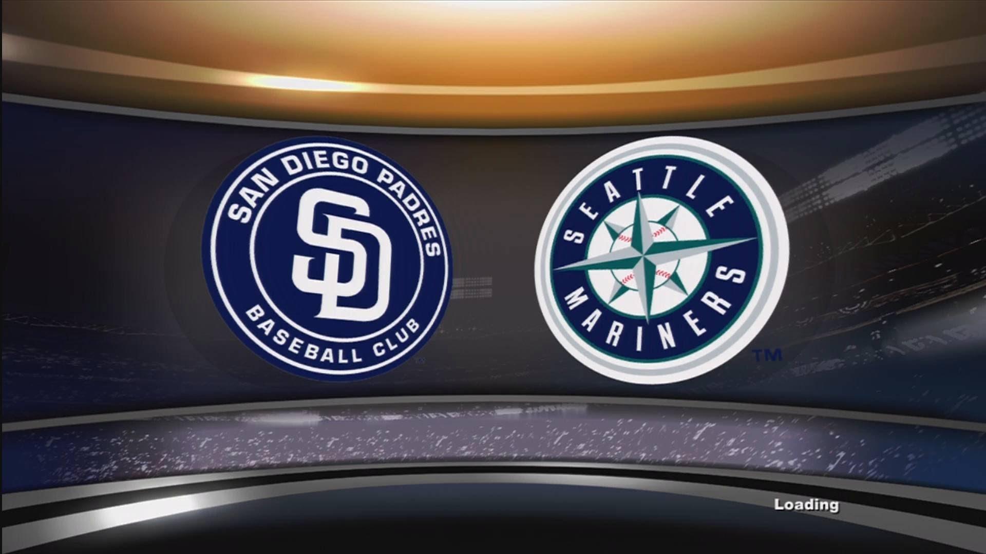 MLB 2K13 Gameplay – Seattle Mariners vs. San Diego Padres