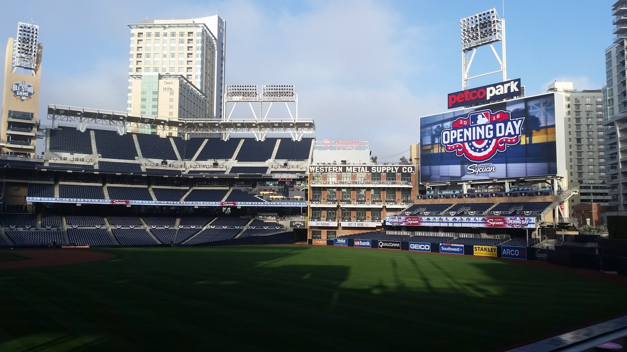 San Diego Padres Opening Day 2016
