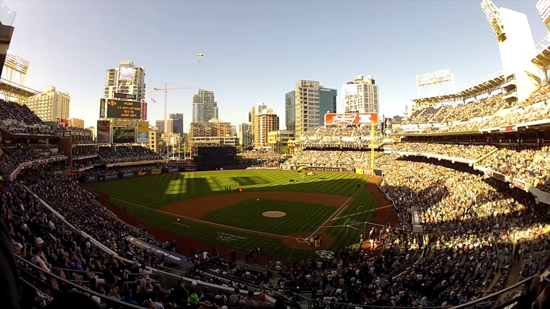 San Diego Padres Event Crew Opening Day 2014 – E-Crew