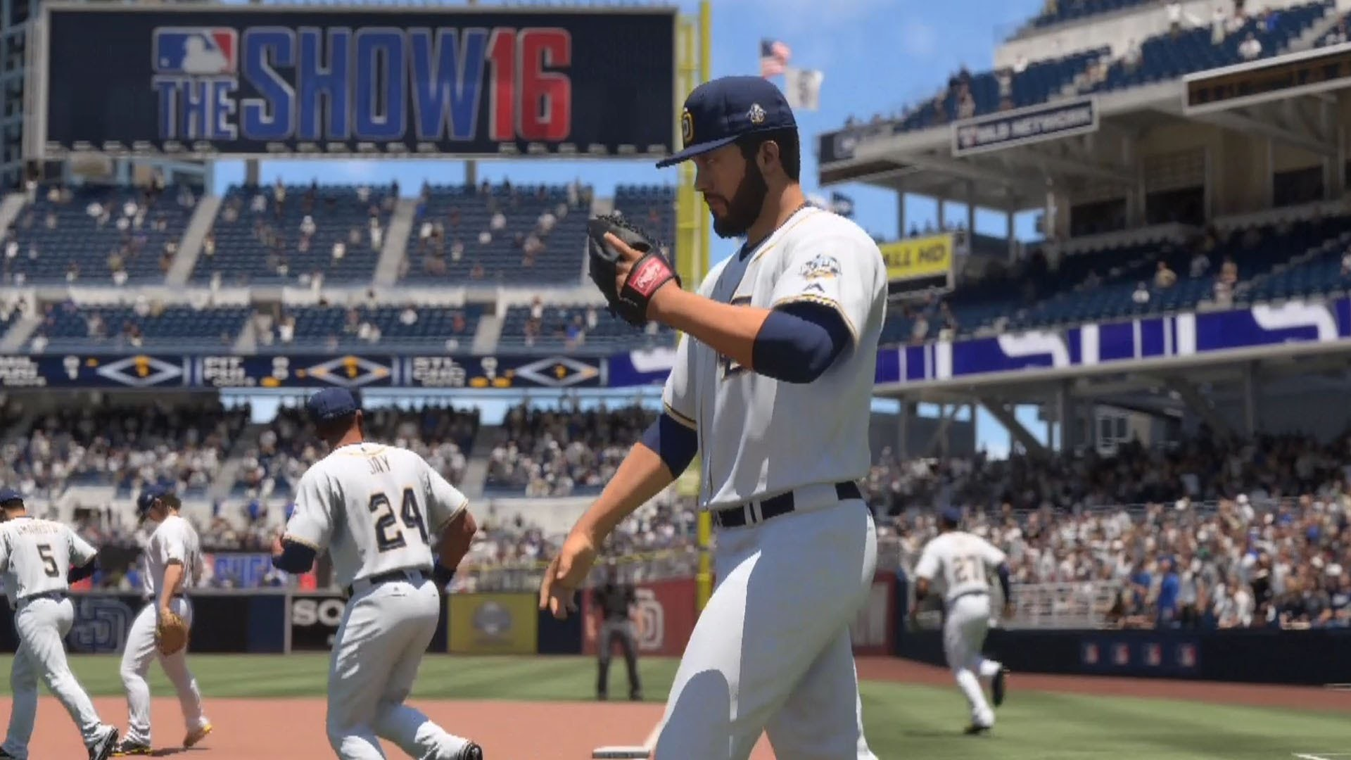 MLB The Show 16 – Cincinnati Reds vs San Diego Padres | Gameplay (PS4 HD)  [1080p60FPS]