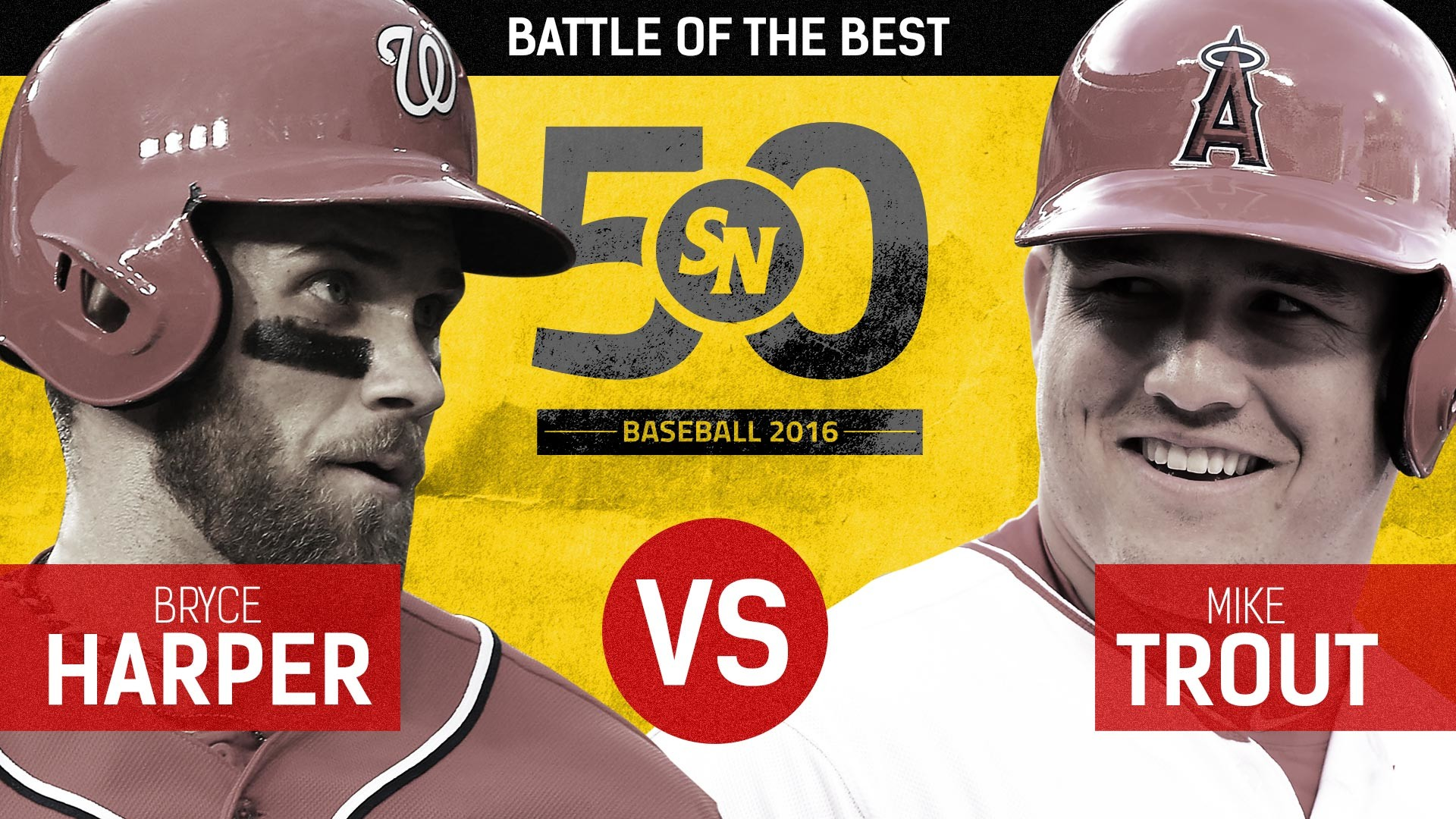 Bryce Harper: The SN50 rivalry that defines this generation of stars | MLB  | Sporting News