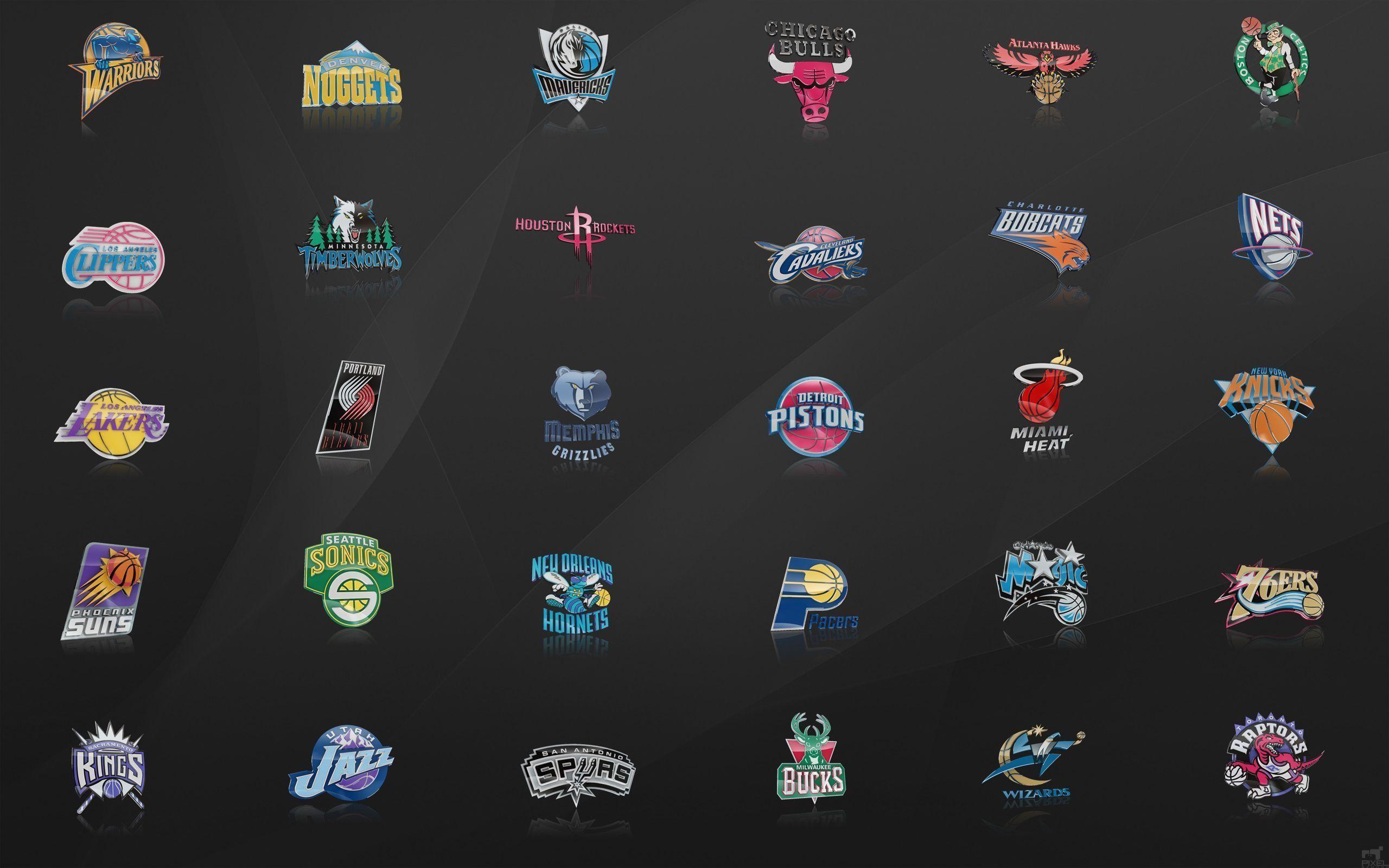 NBA Logos Wallpaper – WallpaperSafari