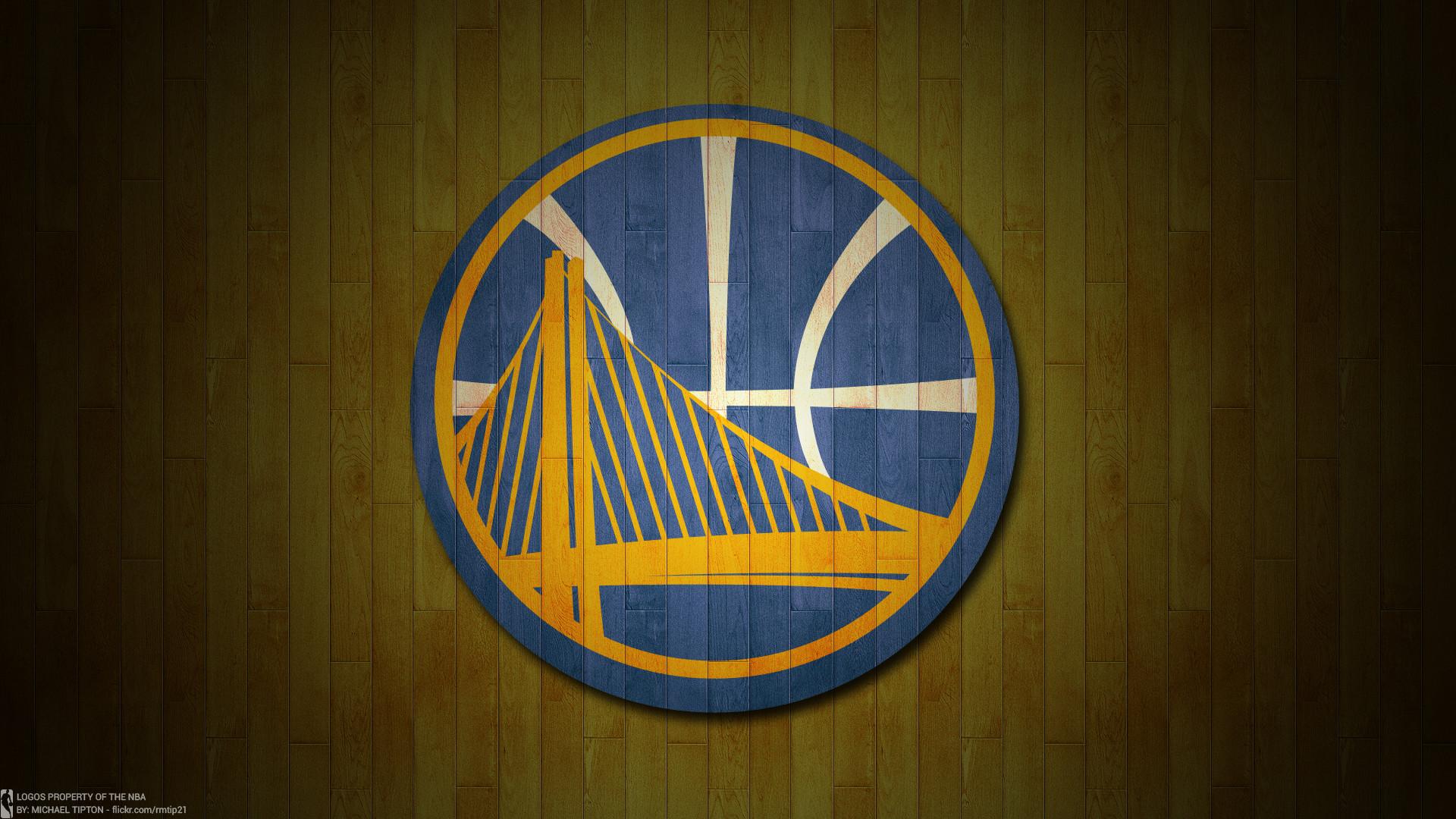 NBA 2017 Golden State Warriors hardwood logo desktop wallpaper …