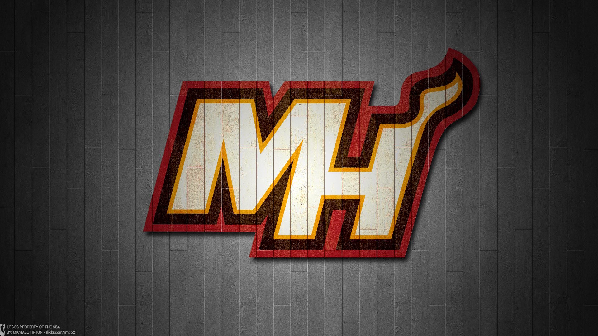 … NBA 2017 Miami Heat hardwood logo desktop wallpaper …