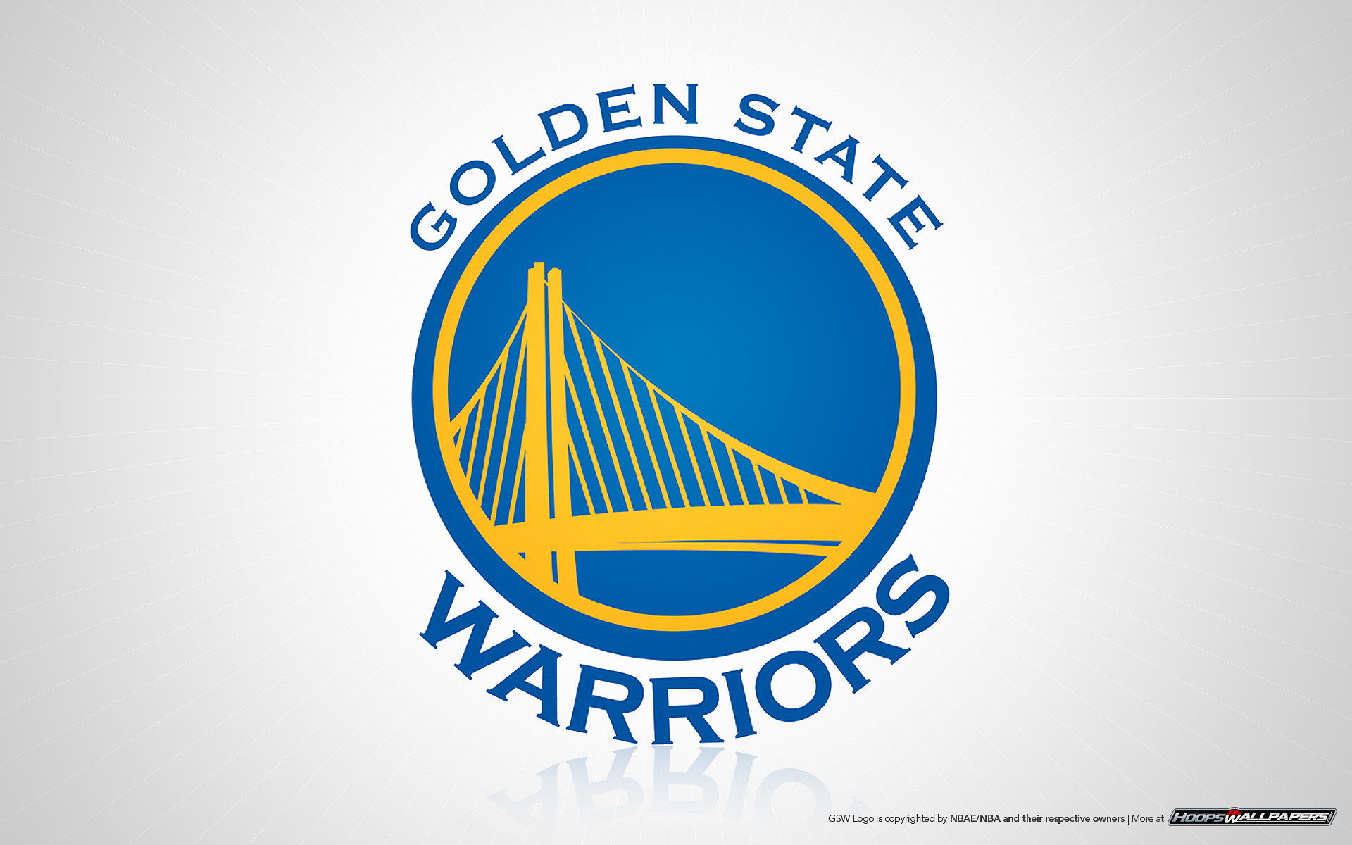 NBA Warriors logo wallpaper. Golden State Warriors wallpaper 1920×1200 …