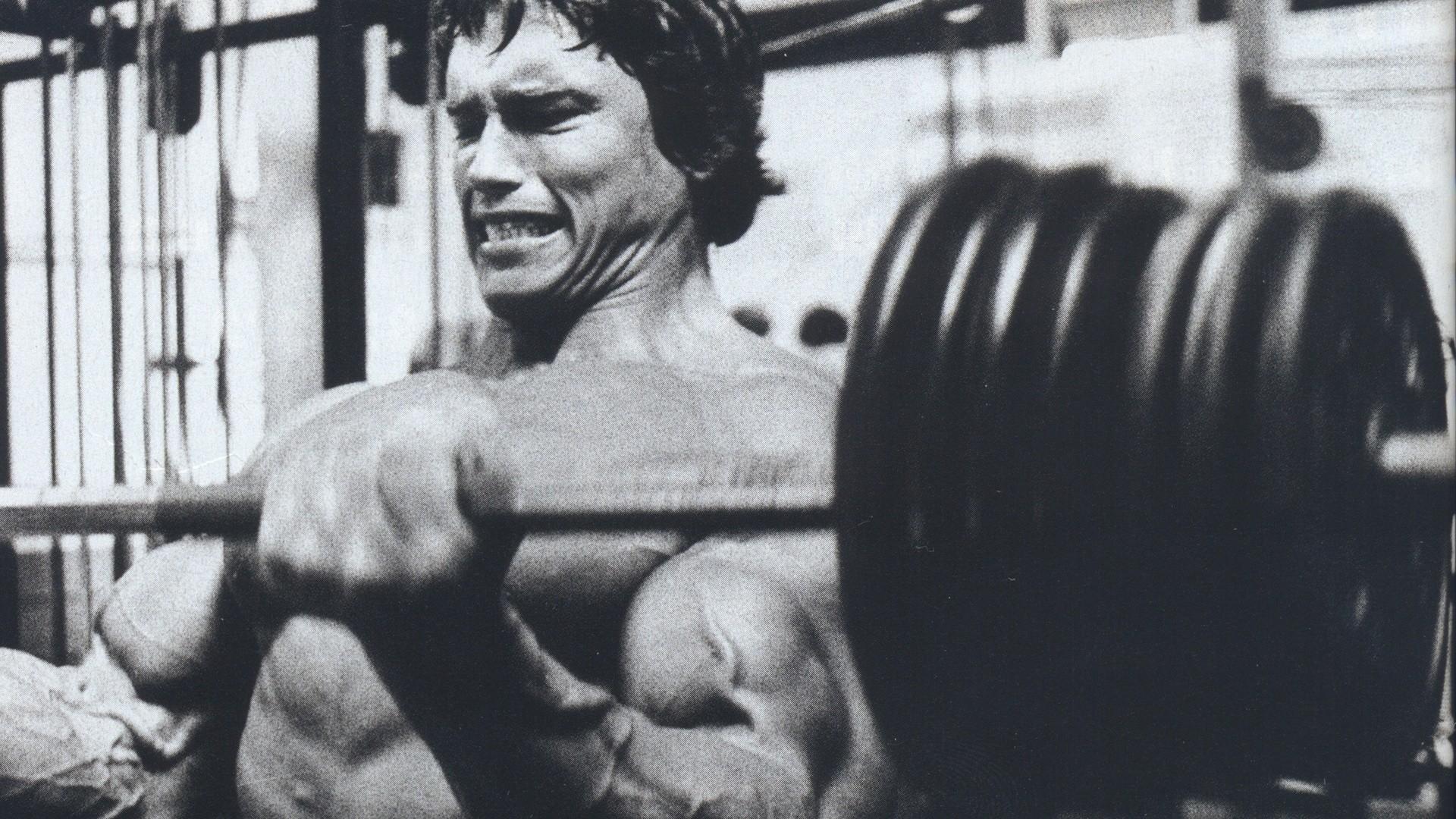 Arnold Schwarzenegger Work Out HD Wallpapers