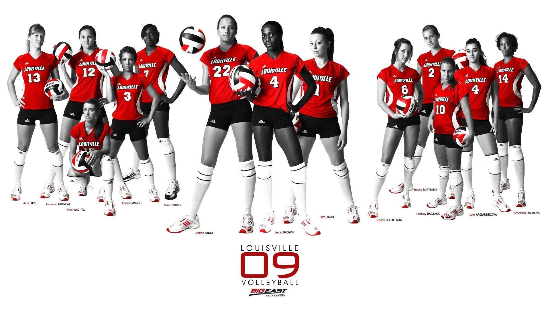 Volleyball college LOUISVILLE wallpaper | | 128558 | WallpaperUP