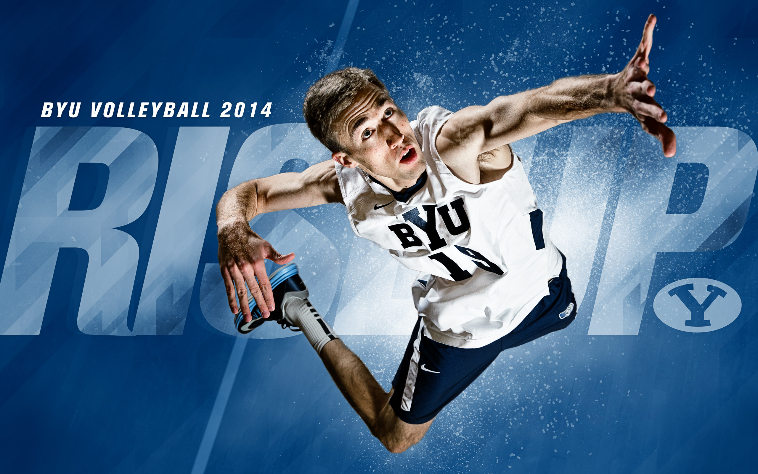 2014 – Devin Young – BYU Volleyball Wallpaper 2014