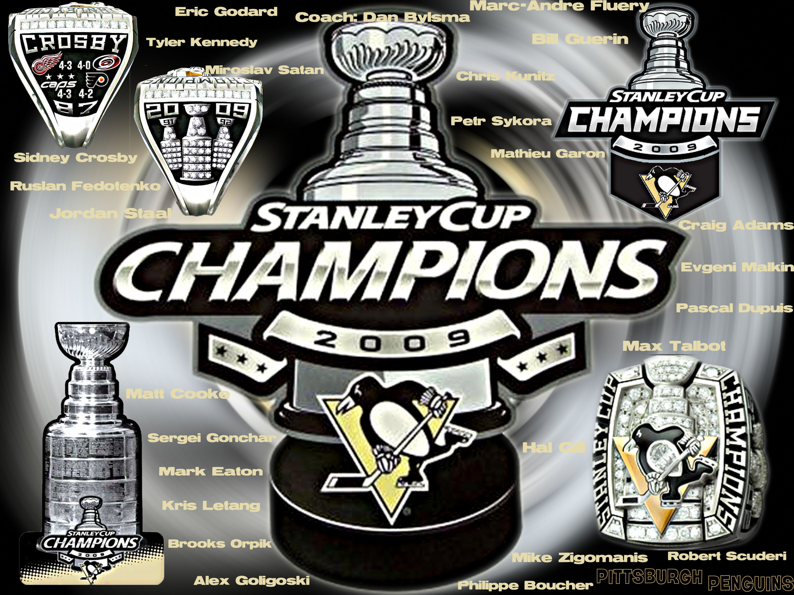 Preview Pittsburgh Penguins Stanley Cup Photos by Obrad Feldon