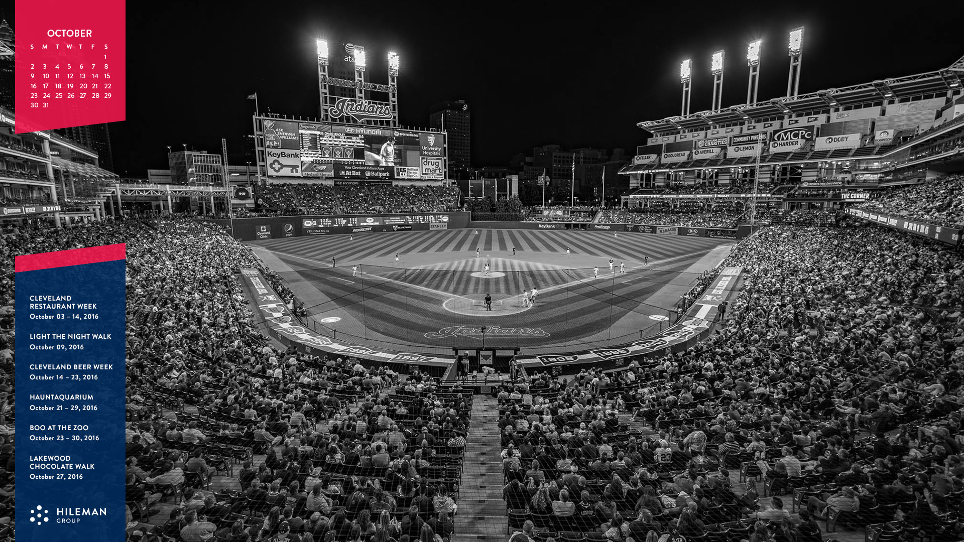 … celebrate the cleveland indians with a desktop wallpaper …