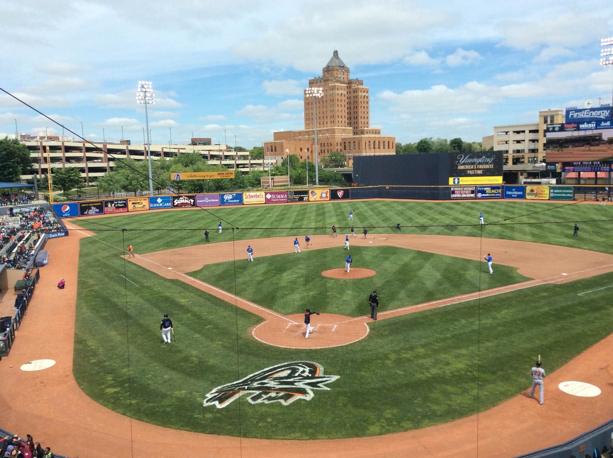 Minor league baseball · Canal Park, Akron, OH Home of the Akron Rubber  Ducks, AA affiliate of