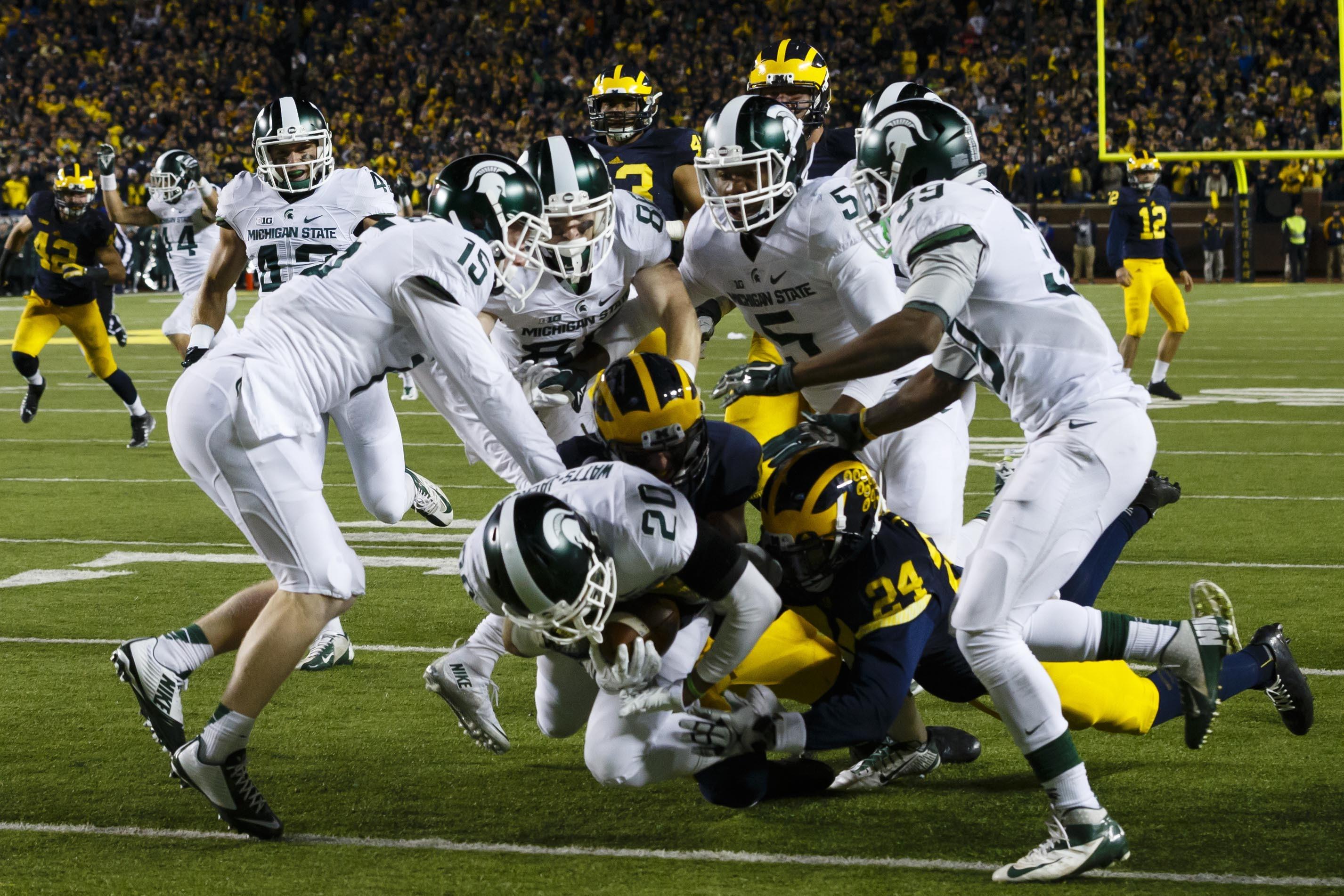 Michigan State Spartans Scoutcom · michigan state spartans football  wallpaper …