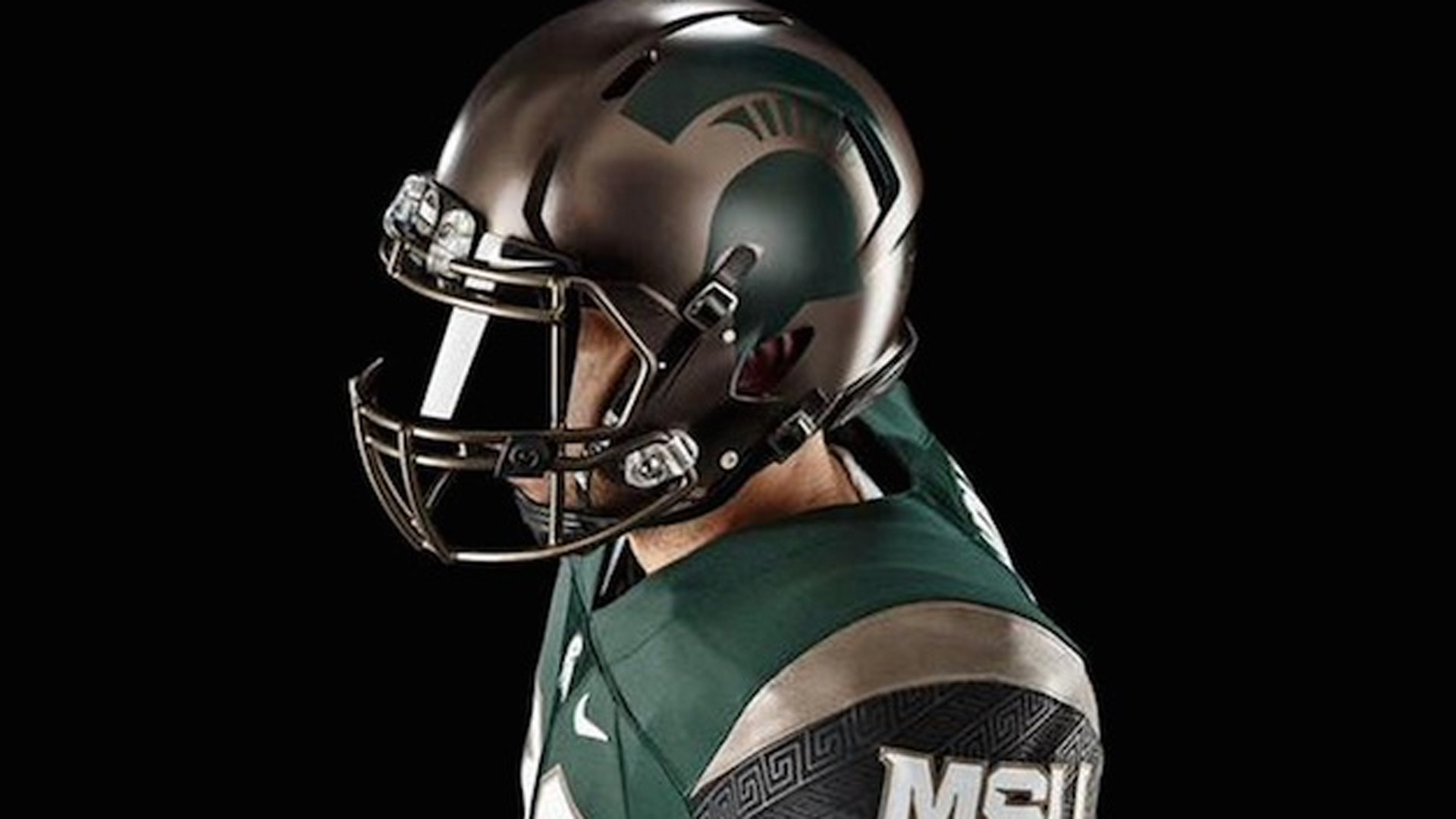 Michigan State's new alternate uniforms inspired by ancient battle  formation | NCAA Football | Sporting News