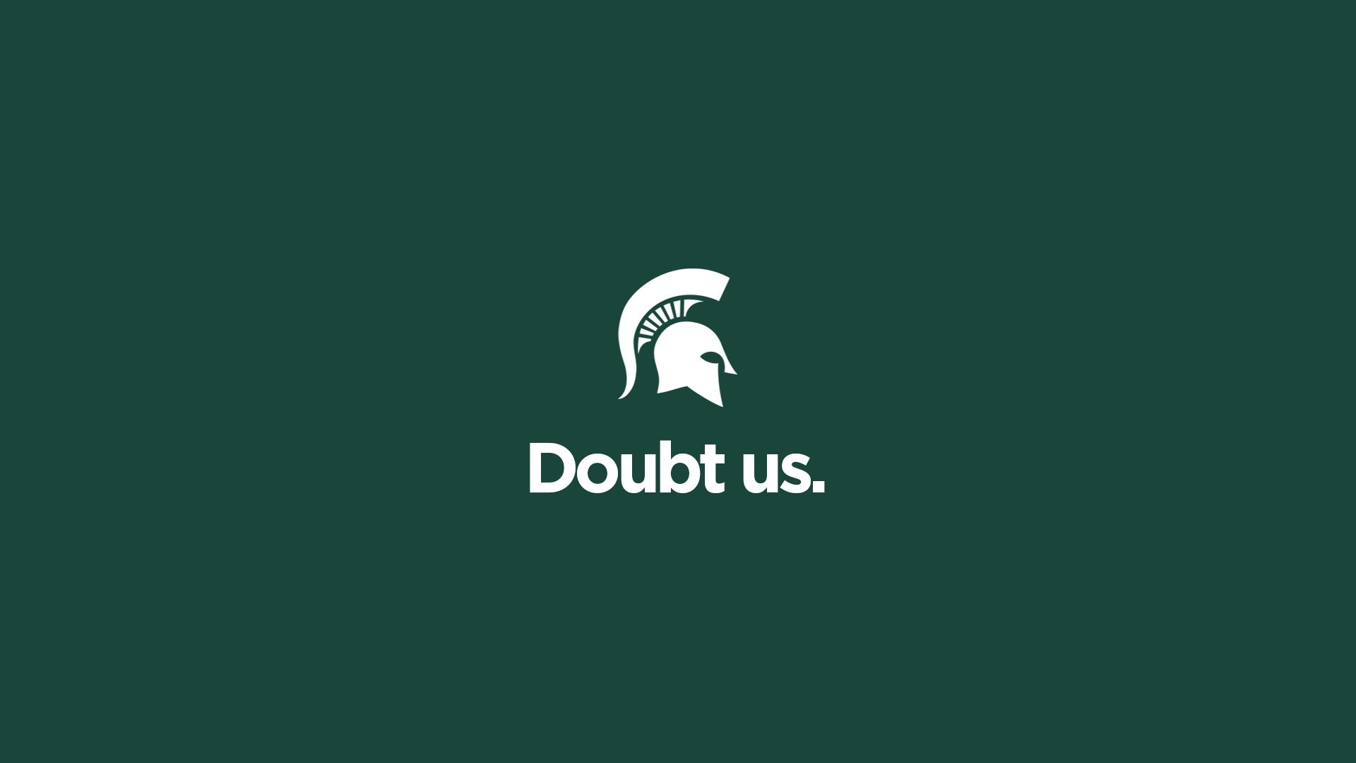 Doubt Us | Michigan State Football Hype Video 2016