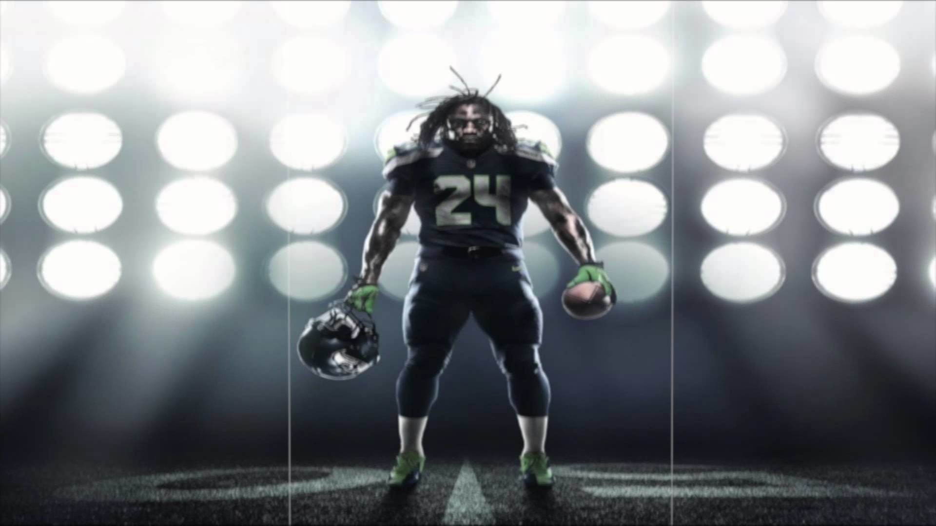 """Marshawn Lynch – """"Beast Mode"""" – By Young Rebel (Seattle Seahawks) –  2012/2013 – YouTube"""