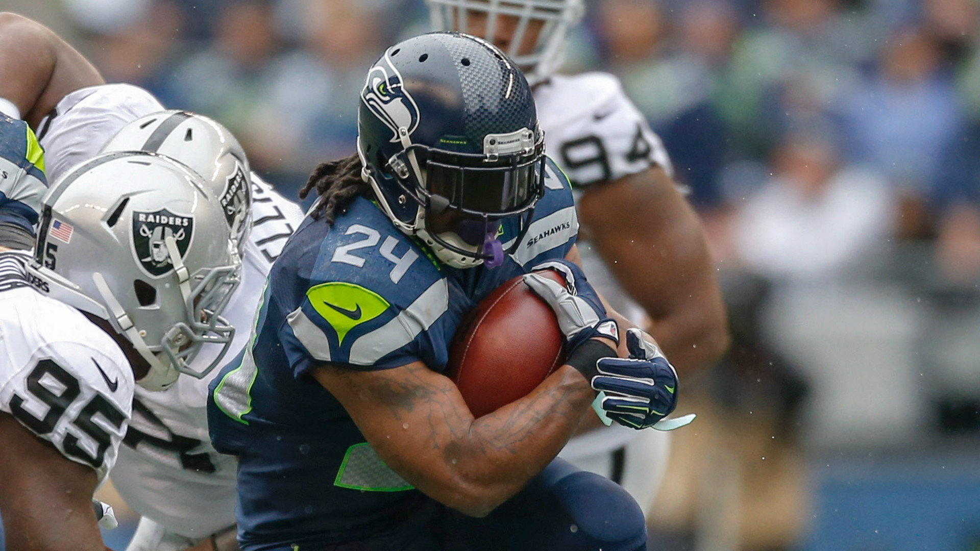 Marshawn Lynch trade rumors: Why a Raiders-Seahawks deal is difficult | NFL  | Sporting News