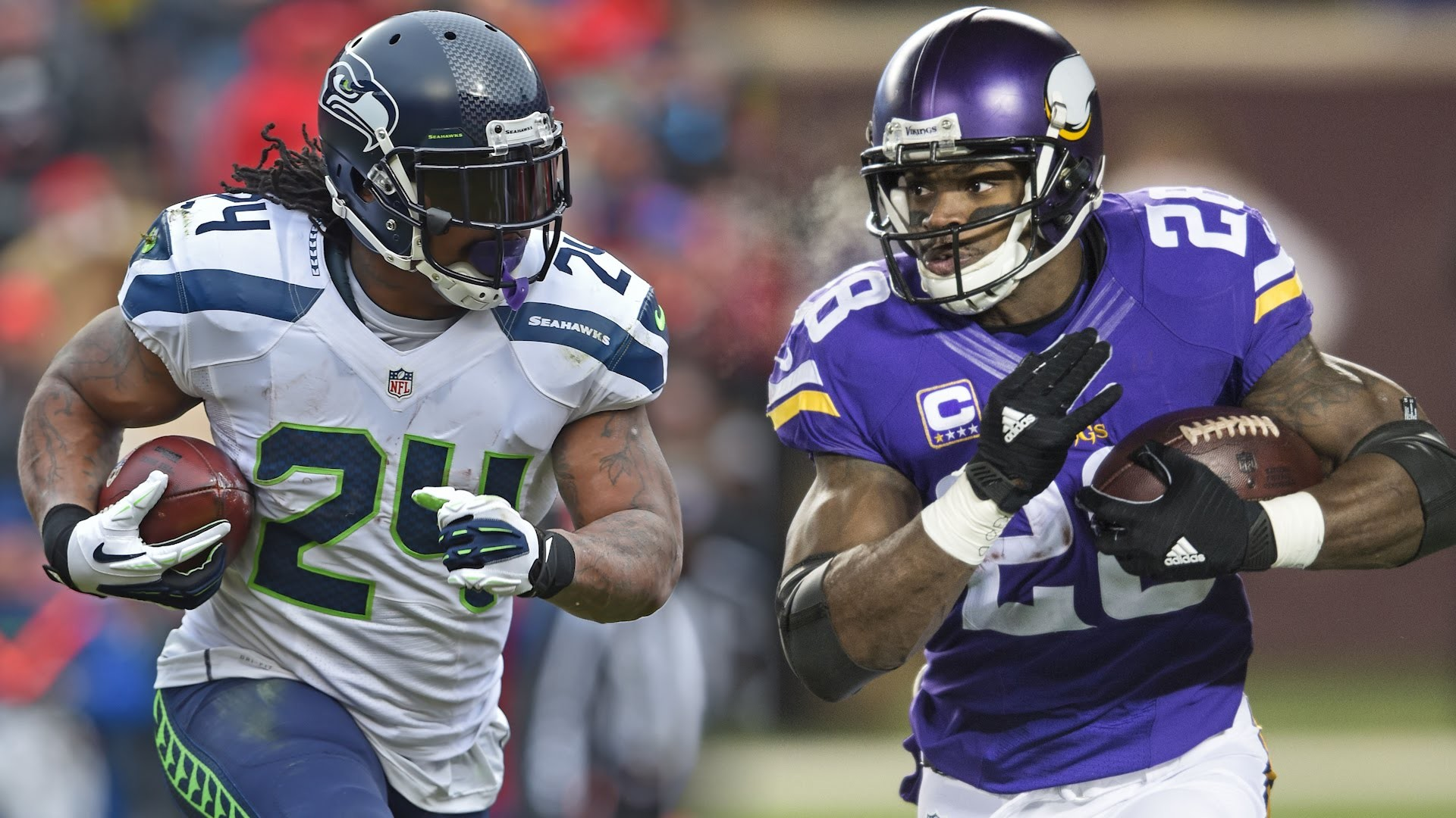 Adrian Peterson: Marshawn Lynch is the second best RB in the NFL