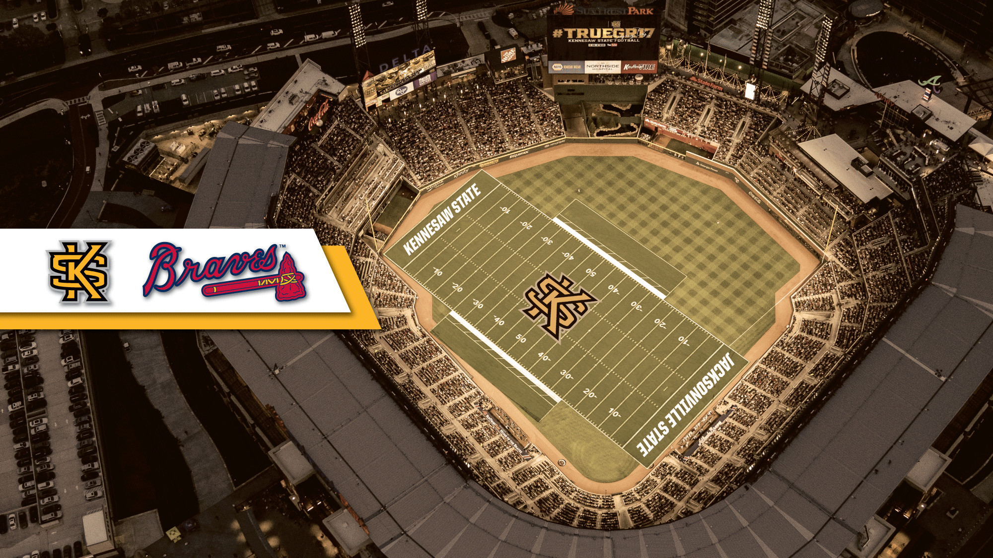 FB: Owls to Host Game at SunTrust Park in 2018