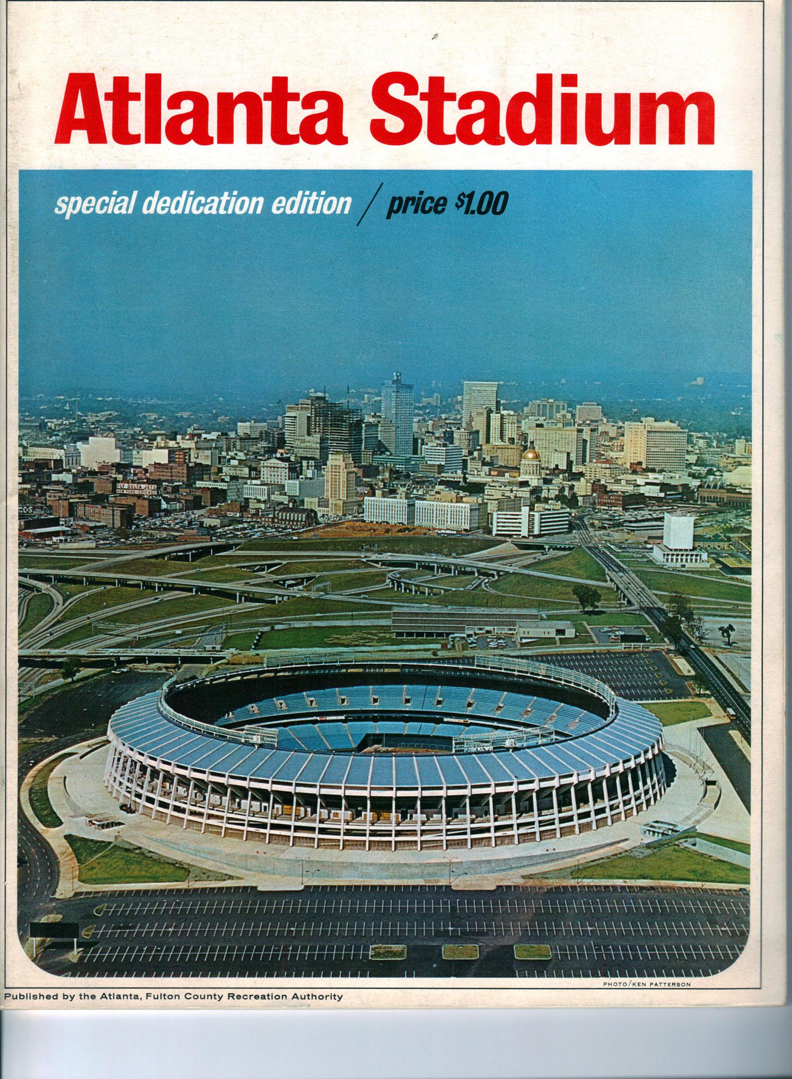 Atlanta Braves Opening Day 1966