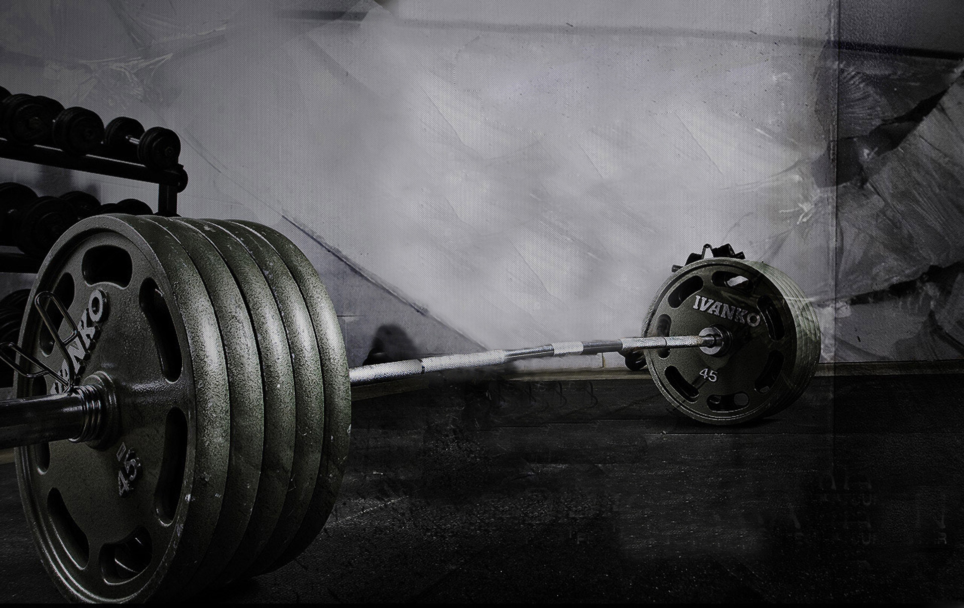 Weight lifting weight bar workout hd wallpaper of size 1920×1080.