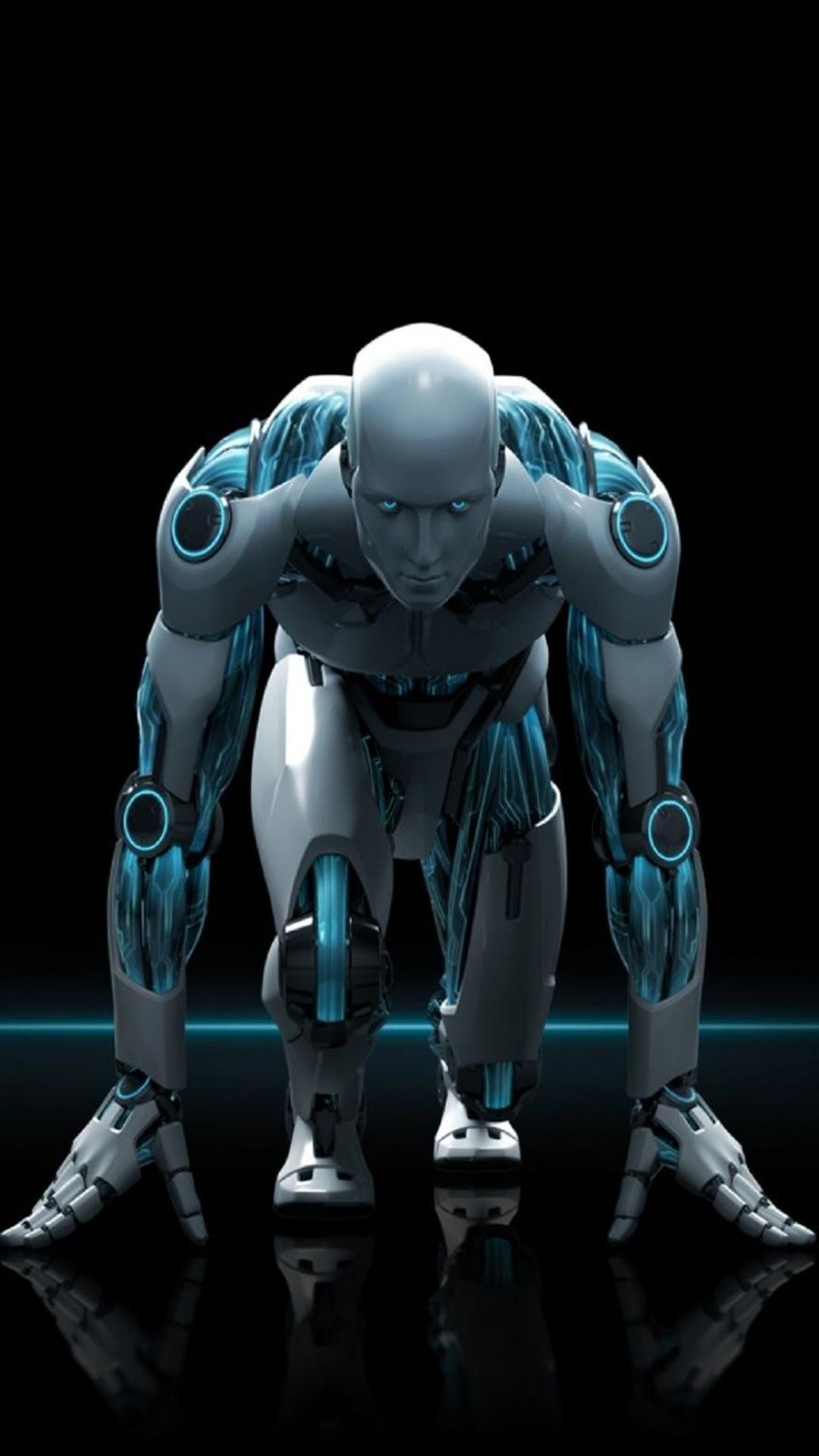 Robotic Workout Fitness Wallpaper