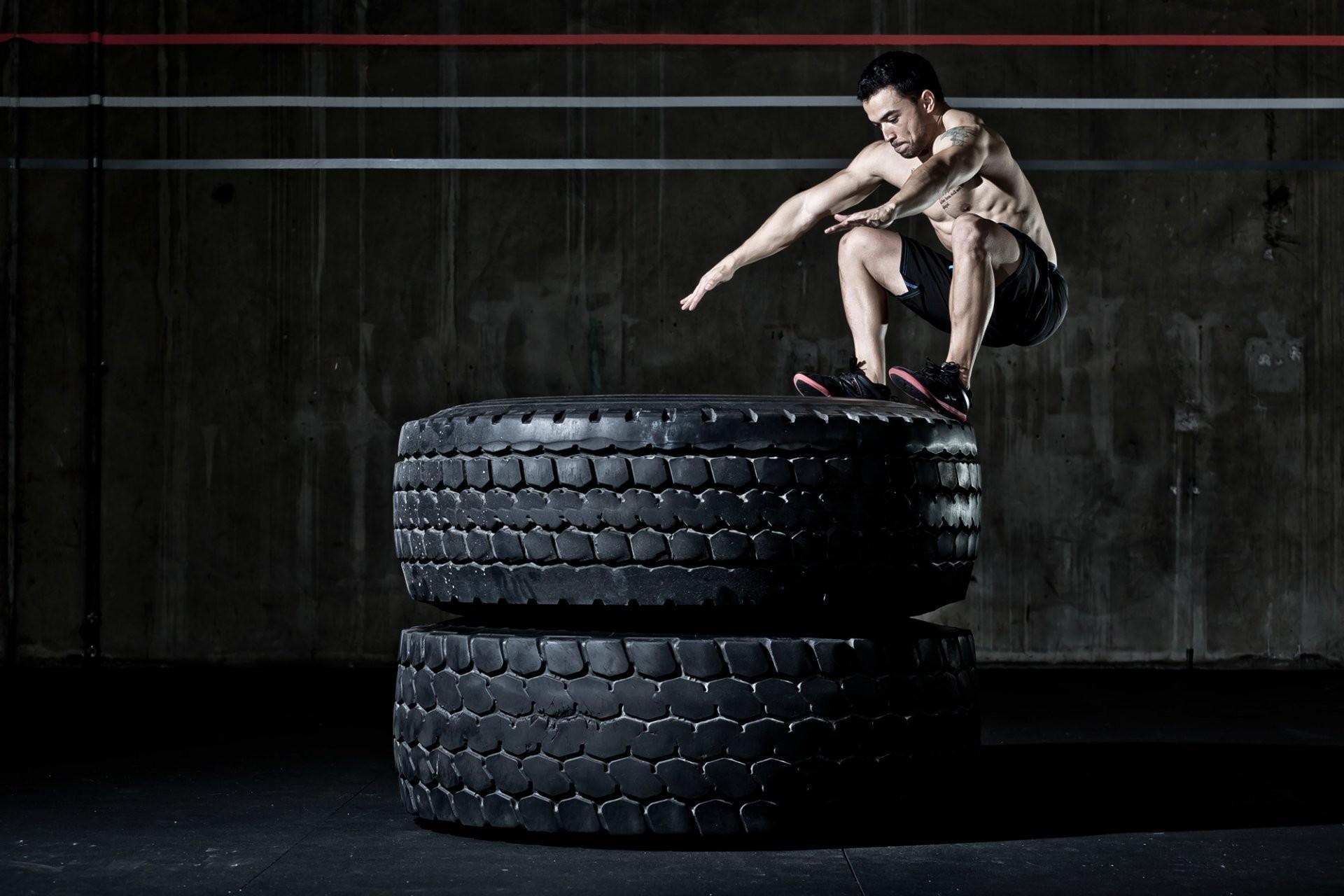 crossfit workout men