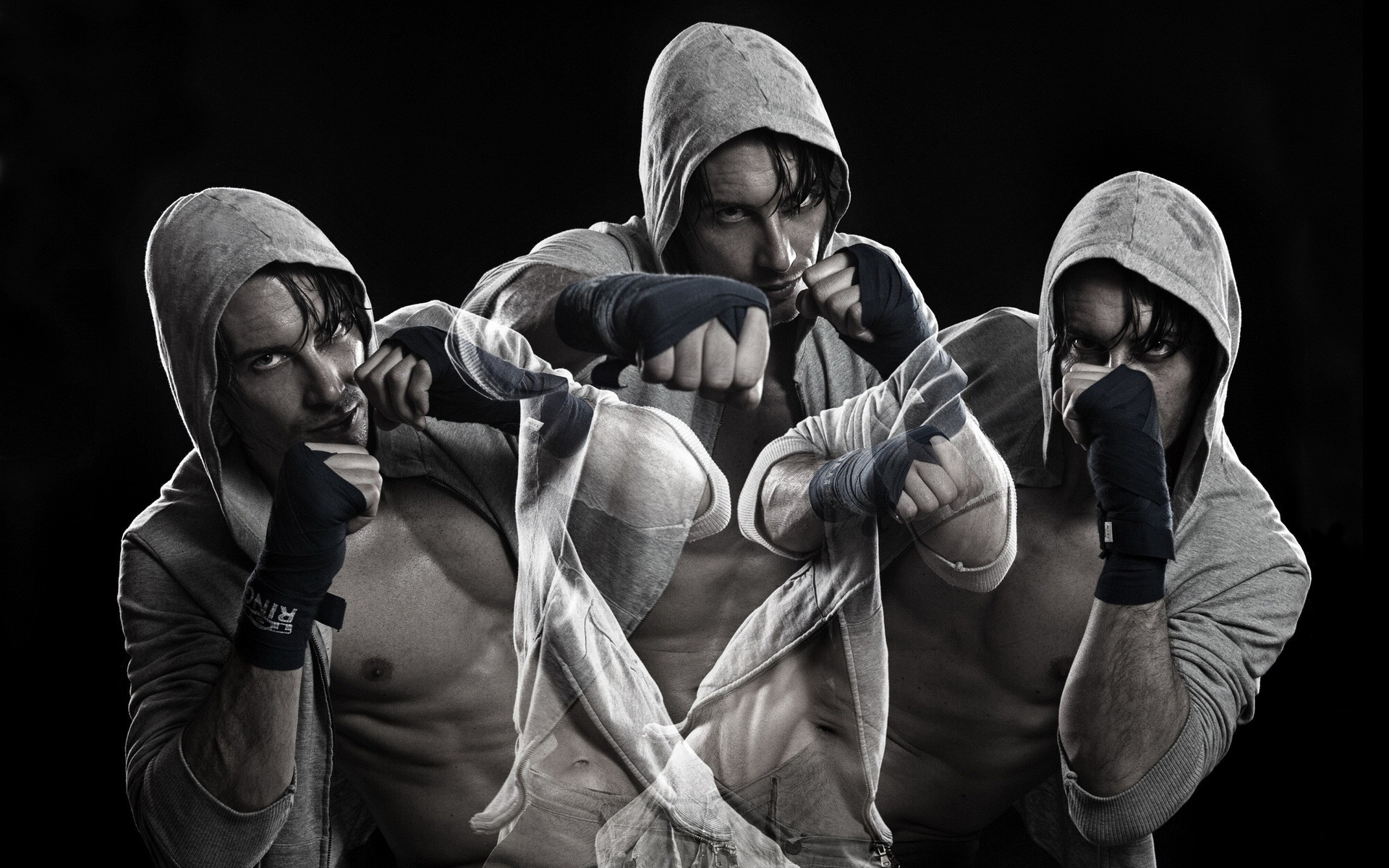 MMA Workout Facebook Cover The results you want will take hard work!