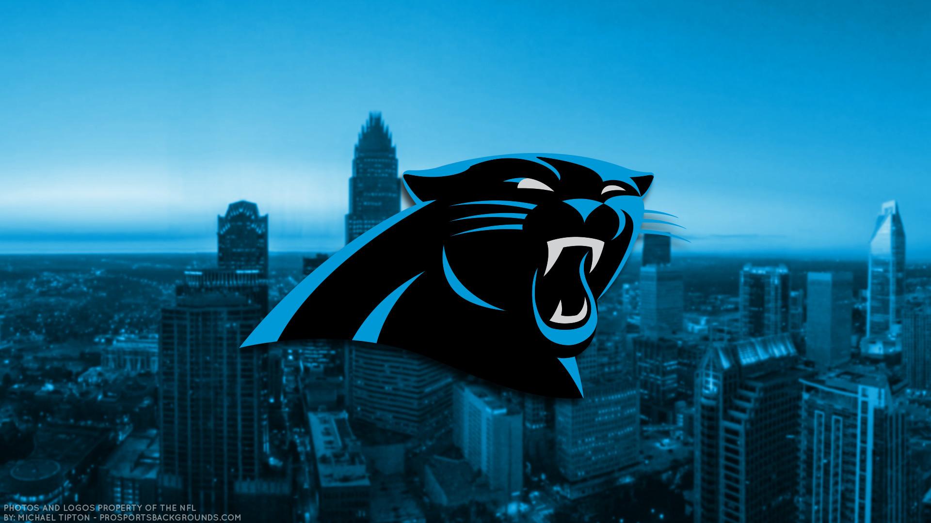 … Carolina Panthers 2017 football logo wallpaper pc desktop computer