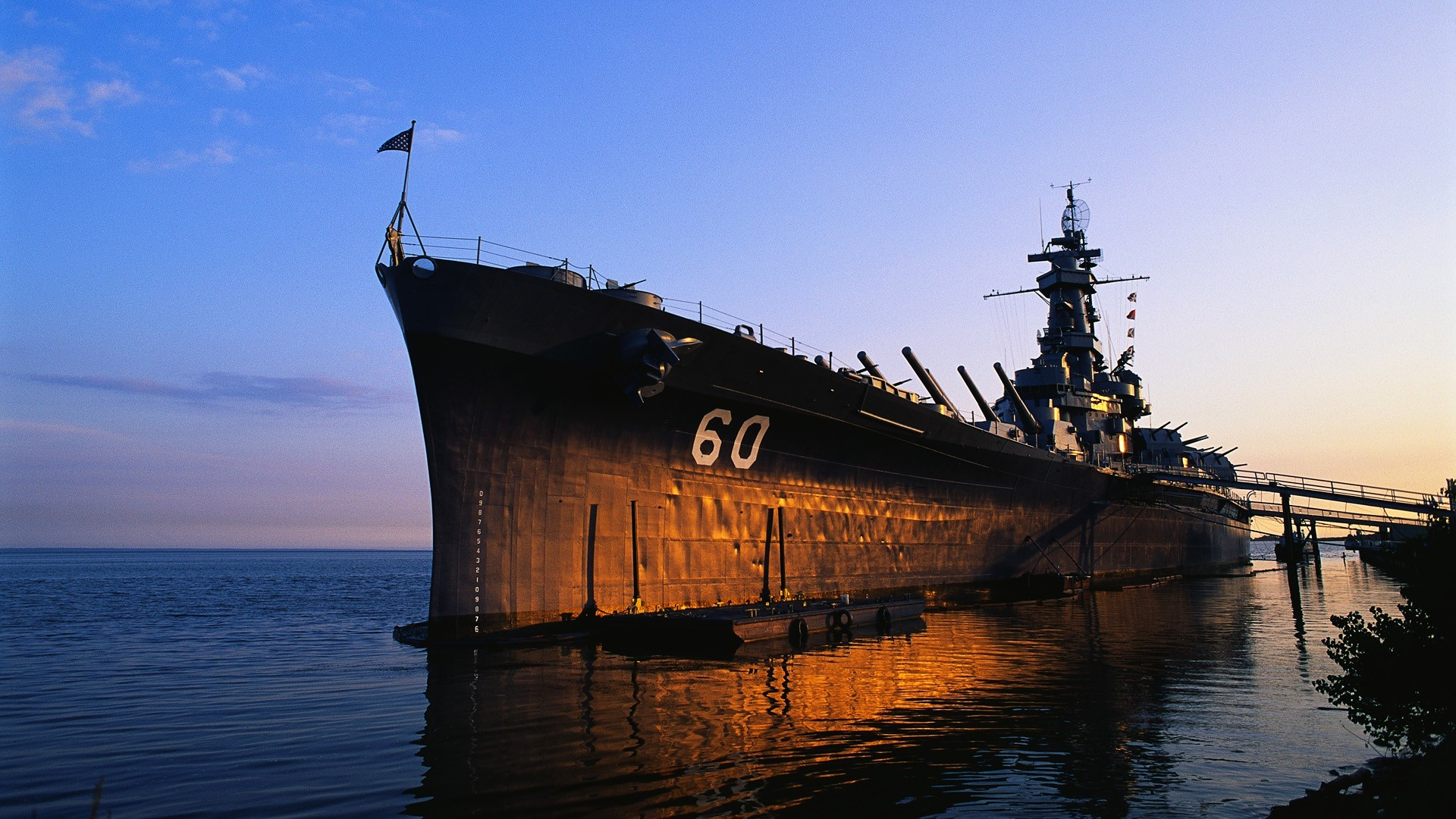 USS Alabama Battleship Wallpapers
