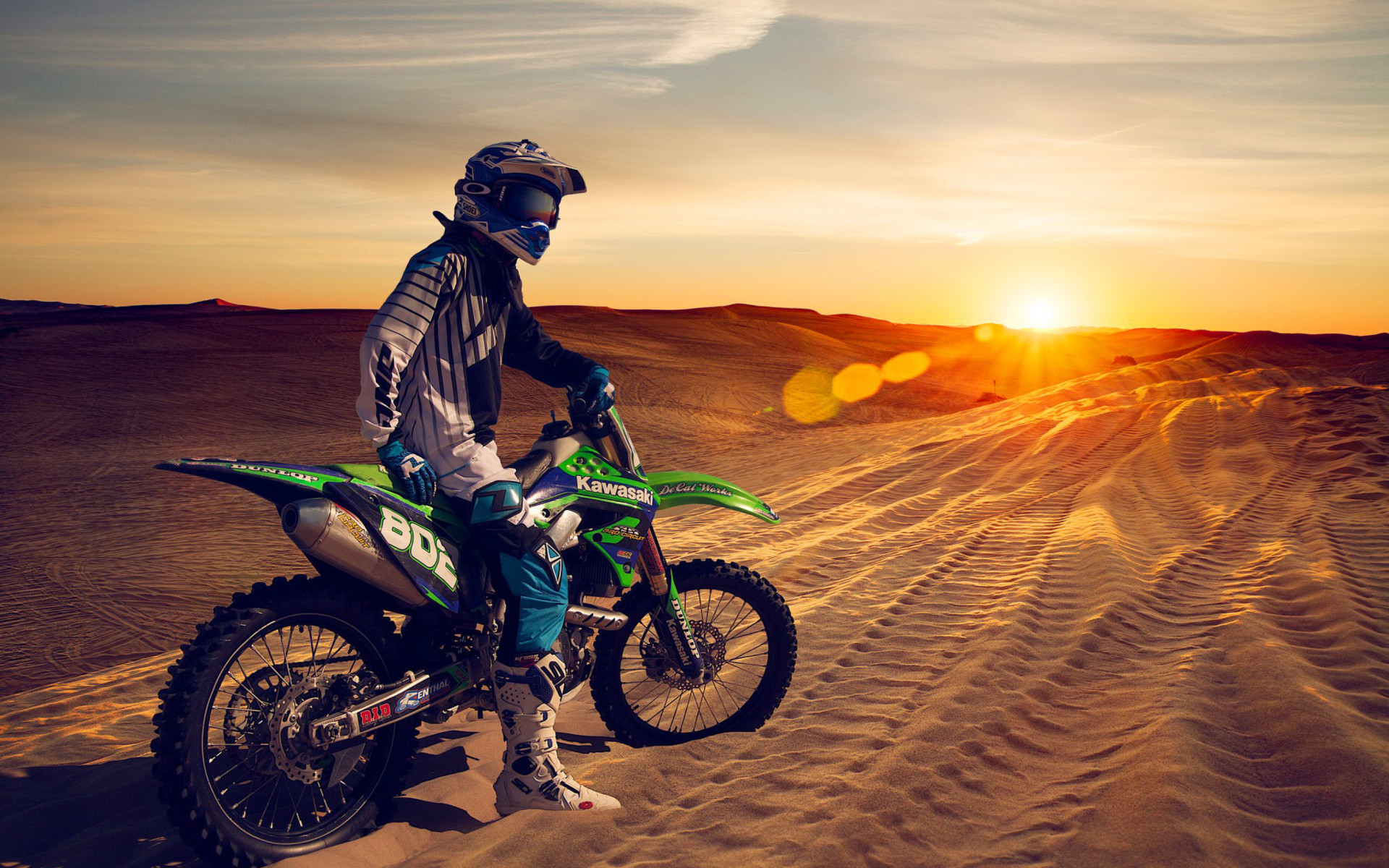 UAE Desert Motocross Wallpaper for Widescreen Desktop PC 1920×1080 .