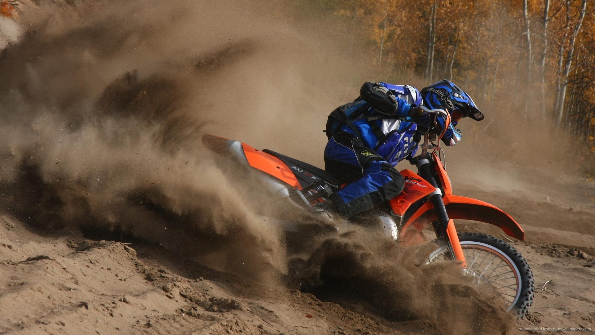 HD Off Road Dirt Motocross wallpaper