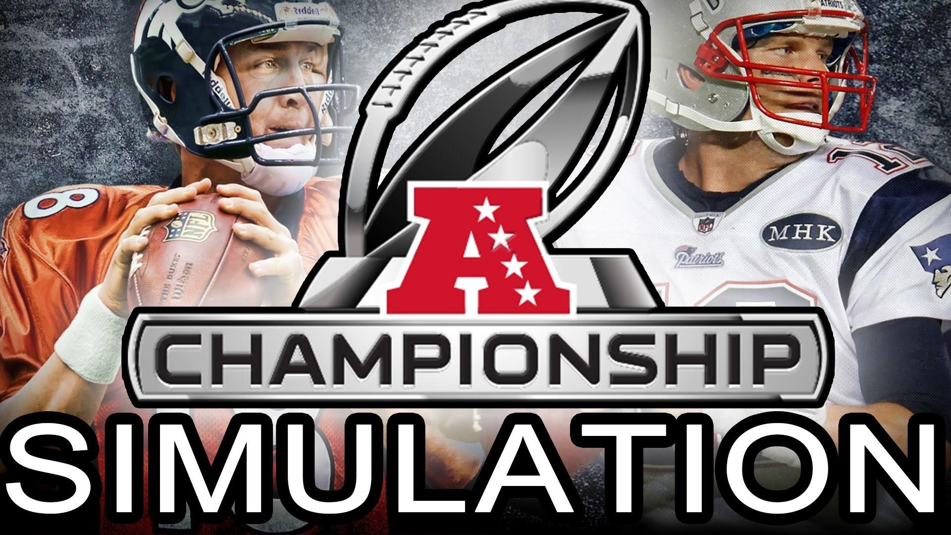 Madden 25 Xbox One – New England Patriots vs Denver Broncos – AFC  Championship Game Simulation – YouTube