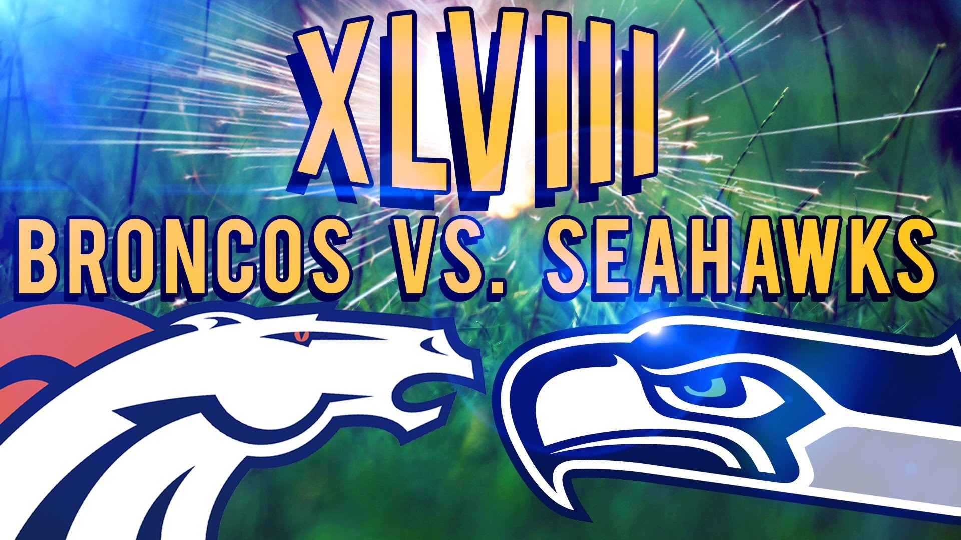 Super Bowl 48 Denver Broncos Vs Seattle Seahawks!