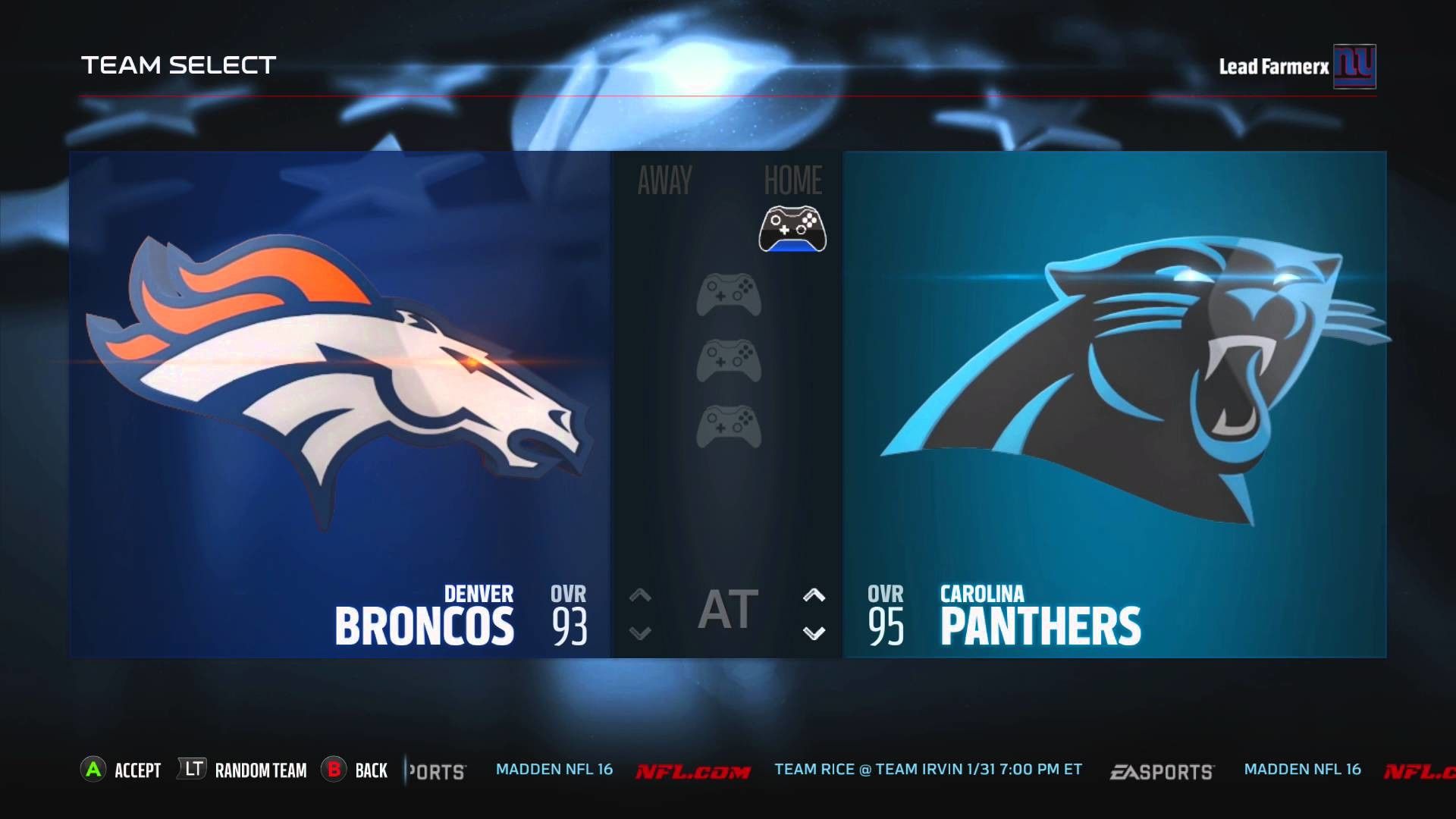 Denver Broncos vs Carolina Panthers – YouTube
