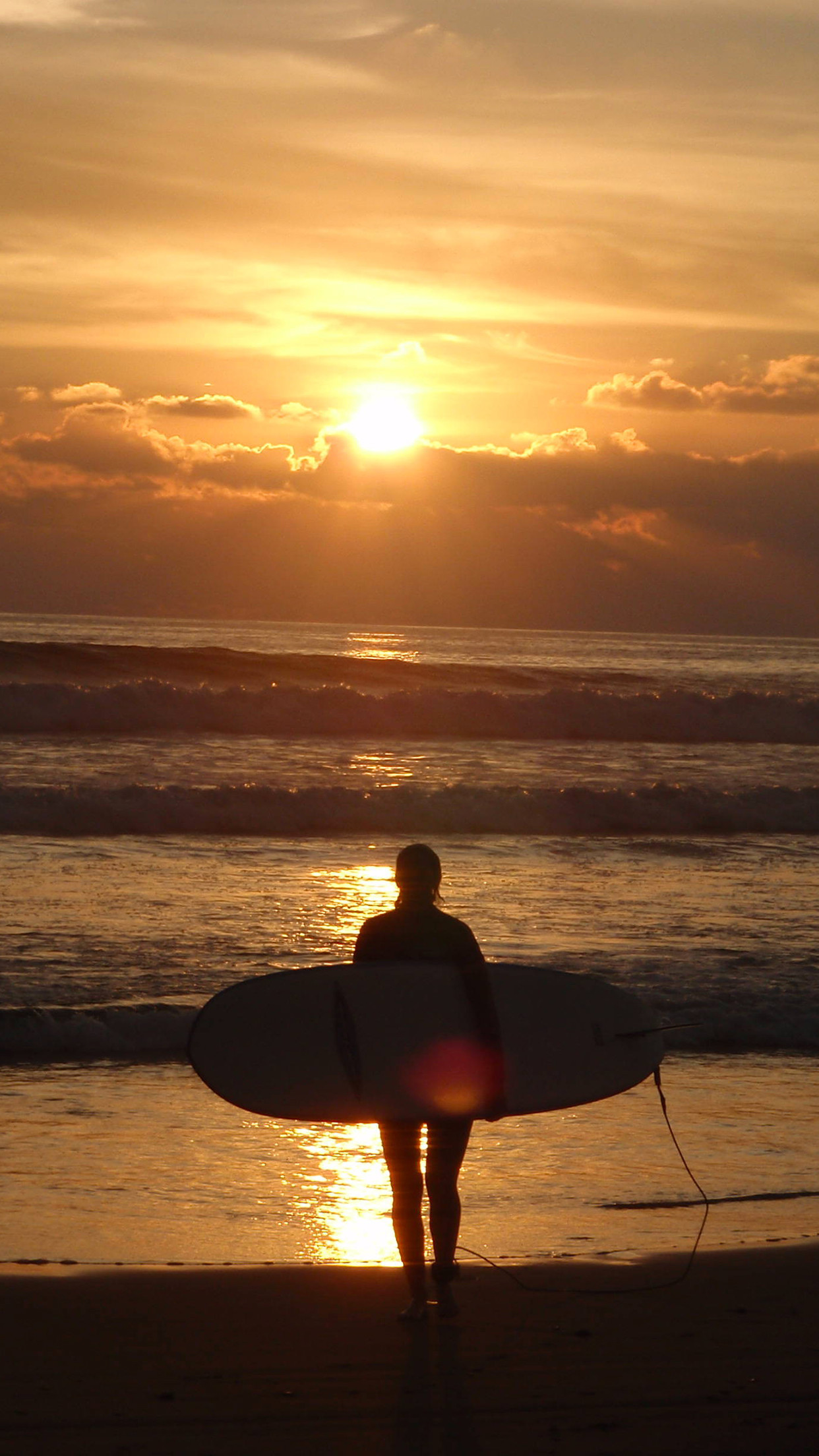 Surfing Sunset iPhone Parallax 3Wallpapers Les 3 Wallpapers iPhone du .
