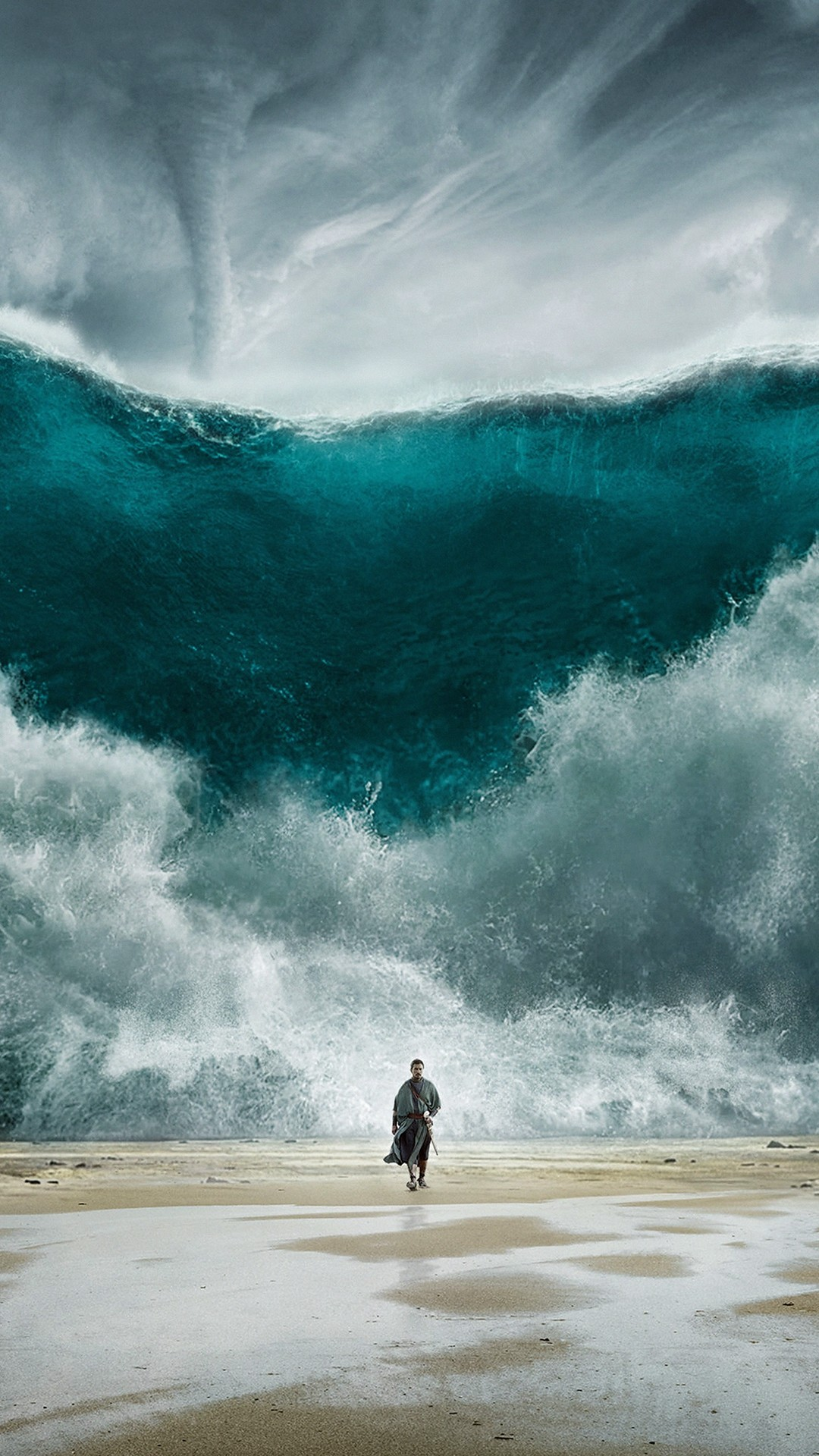 Wave Sea Art Film Illust #iPhone #7 #wallpaper