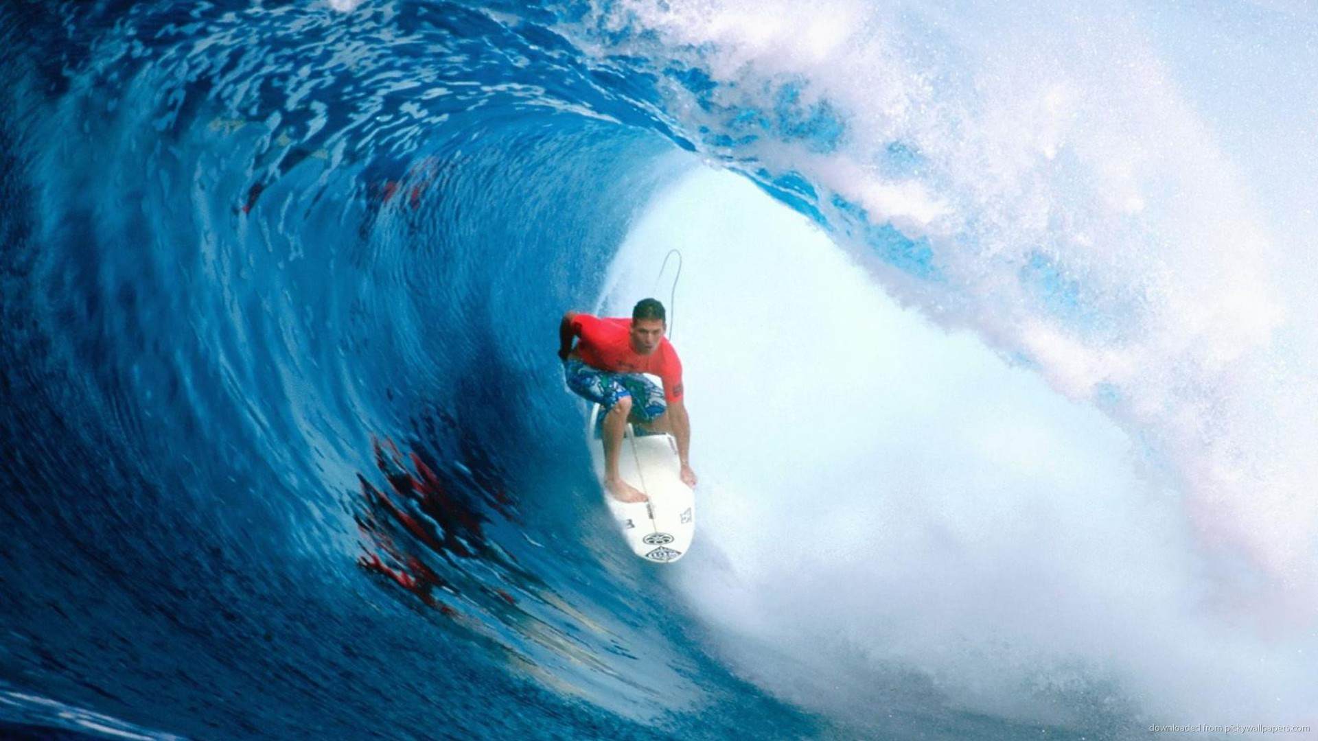 Surfing In A Tube picture